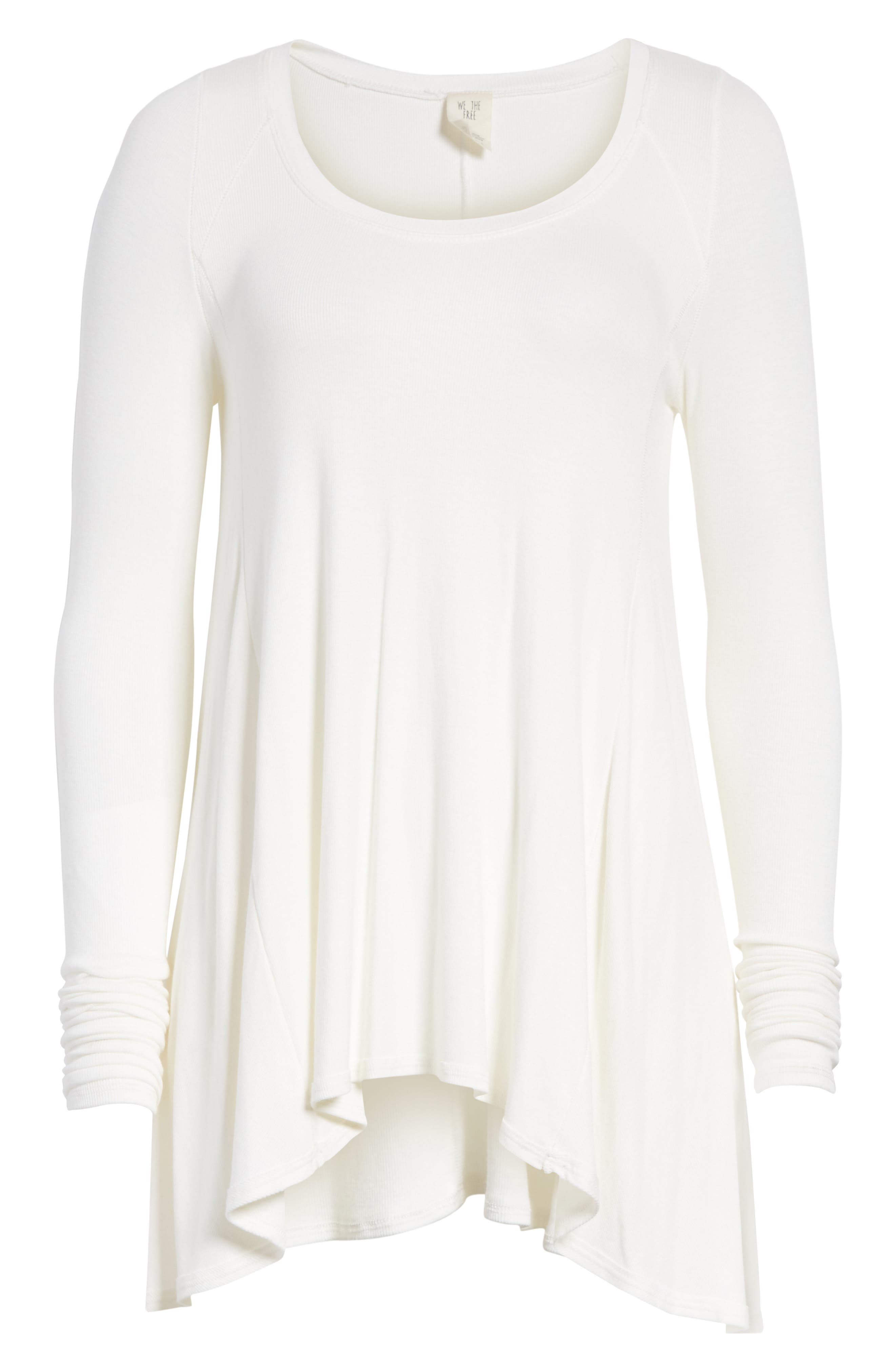 We the Free by Free People January Tee,                             Alternate thumbnail 6, color,                             IVORY