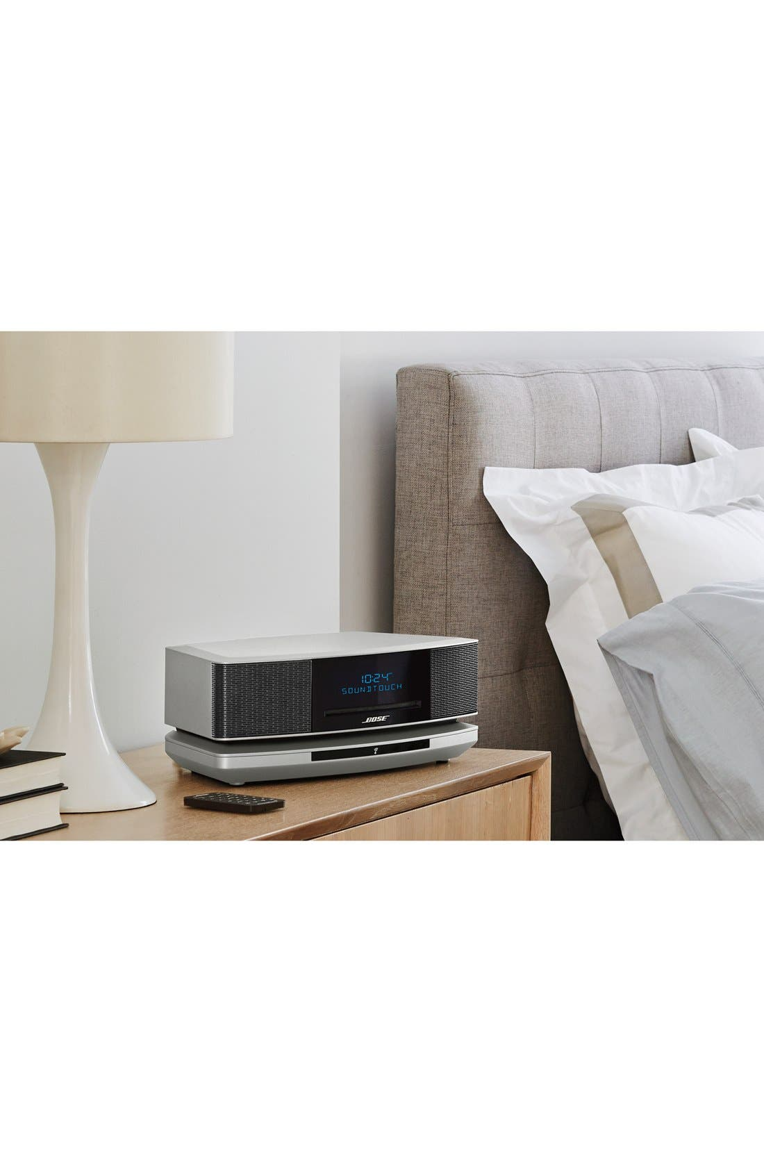 Wave<sup>®</sup> SoundTouch<sup>®</sup> IV Wi-Fi<sup>®</sup> Music System,                             Alternate thumbnail 2, color,                             SILVER