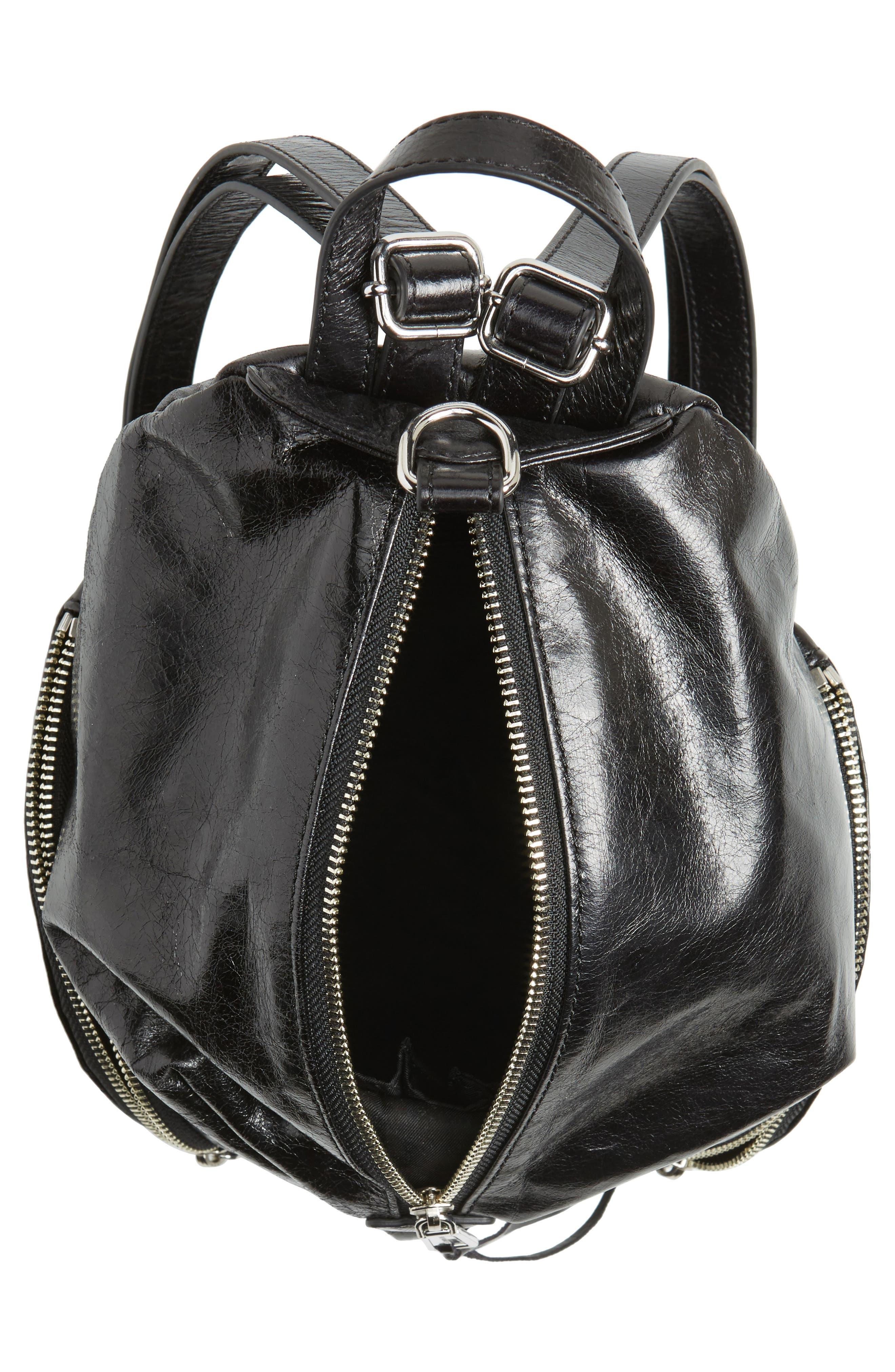 Medium Julian Leather Backpack,                             Alternate thumbnail 14, color,