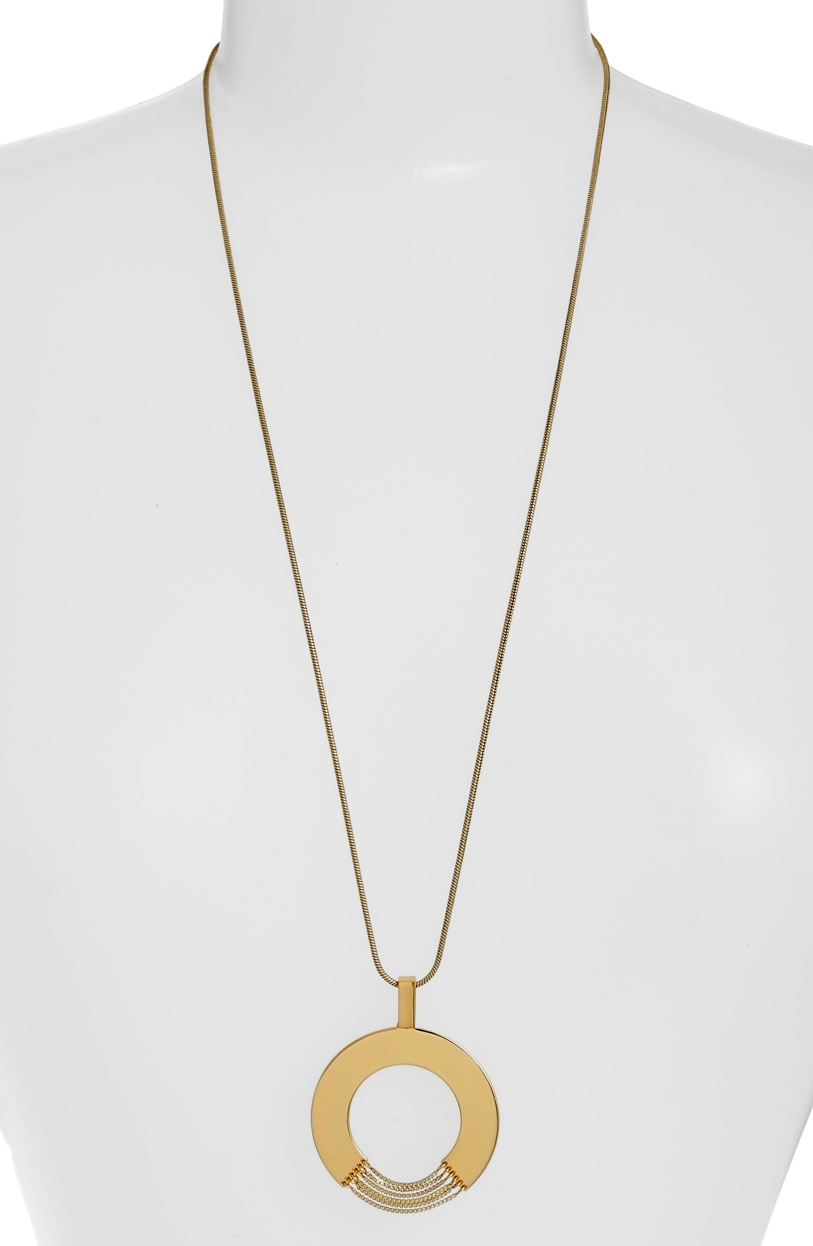 Sofia Rises Pendant Necklace,                             Main thumbnail 1, color,                             GOLD