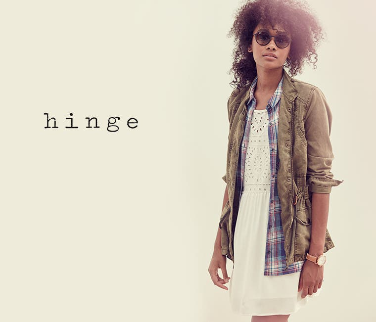 Hinge.