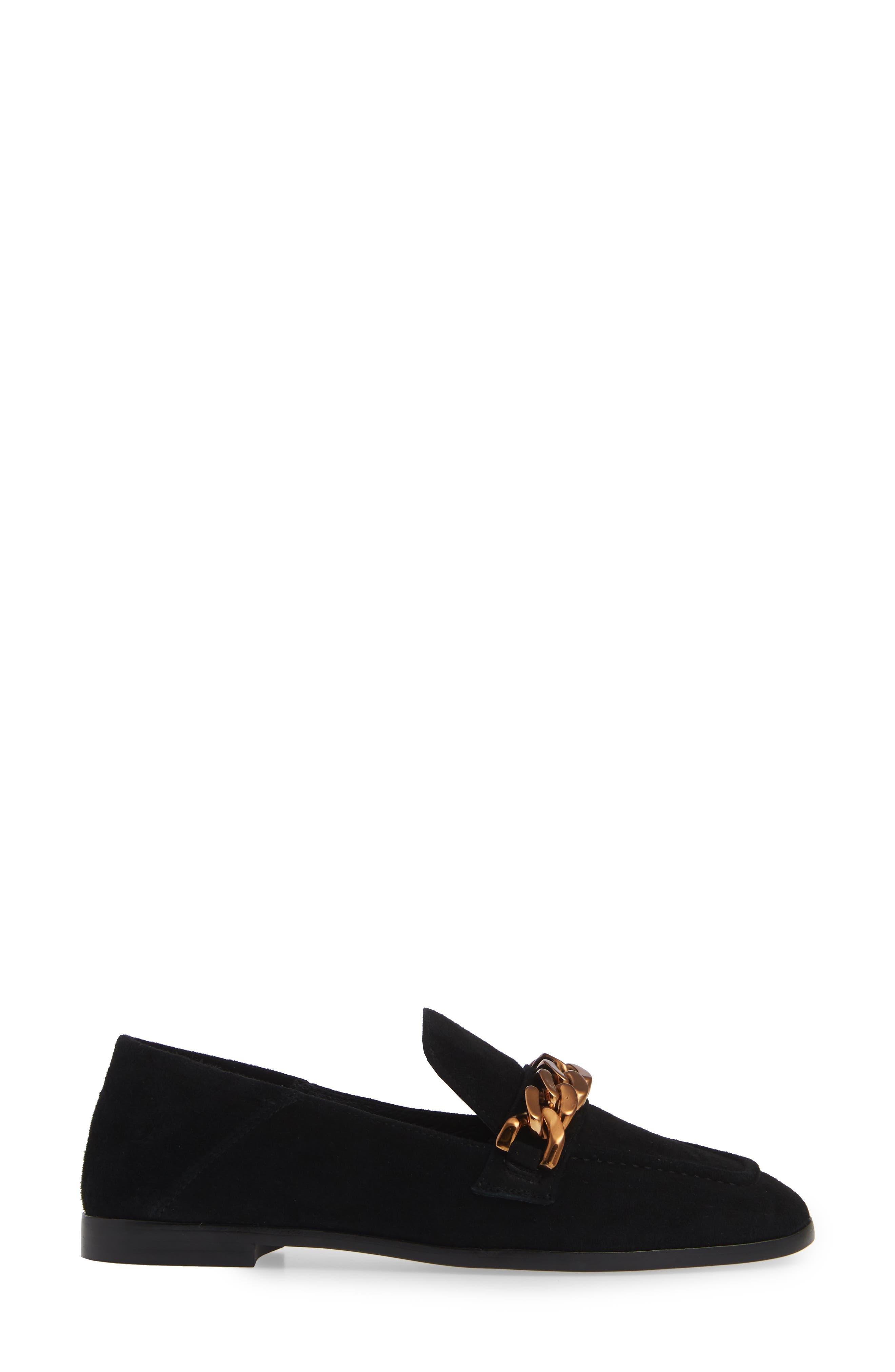 Jesse Convertible Heel Loafer,                             Alternate thumbnail 2, color,                             BLACK SUEDE BRONZE
