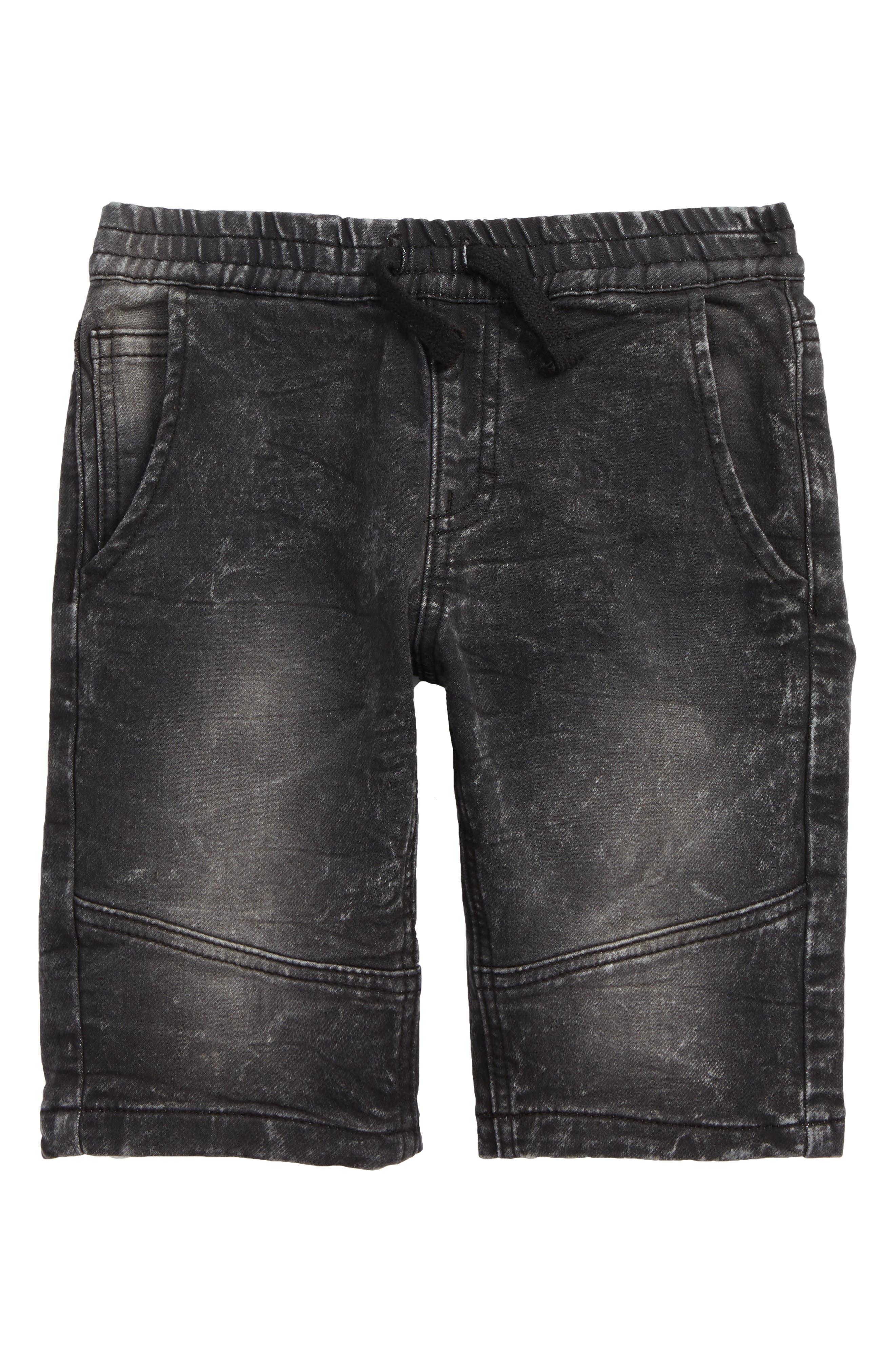 Stretch Denim Shorts,                             Main thumbnail 1, color,                             015