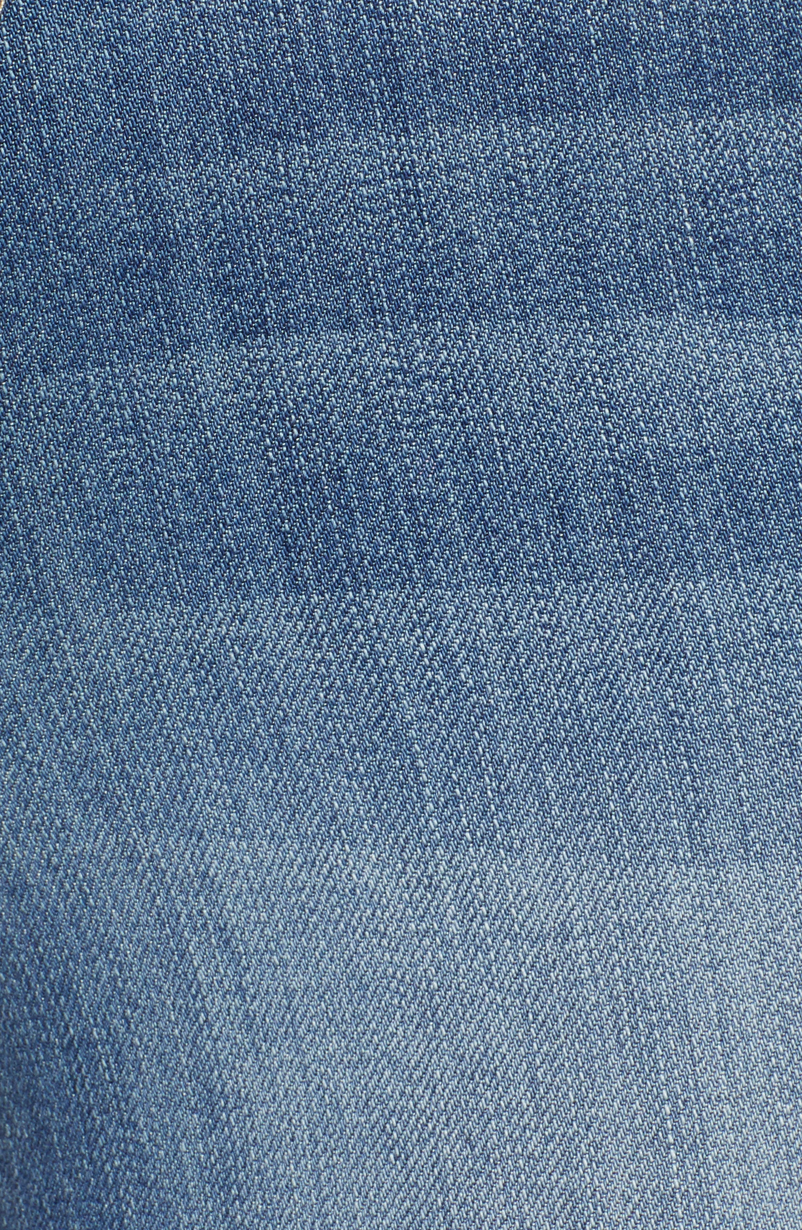 Distressed Skinny Jeans,                             Alternate thumbnail 6, color,                             400