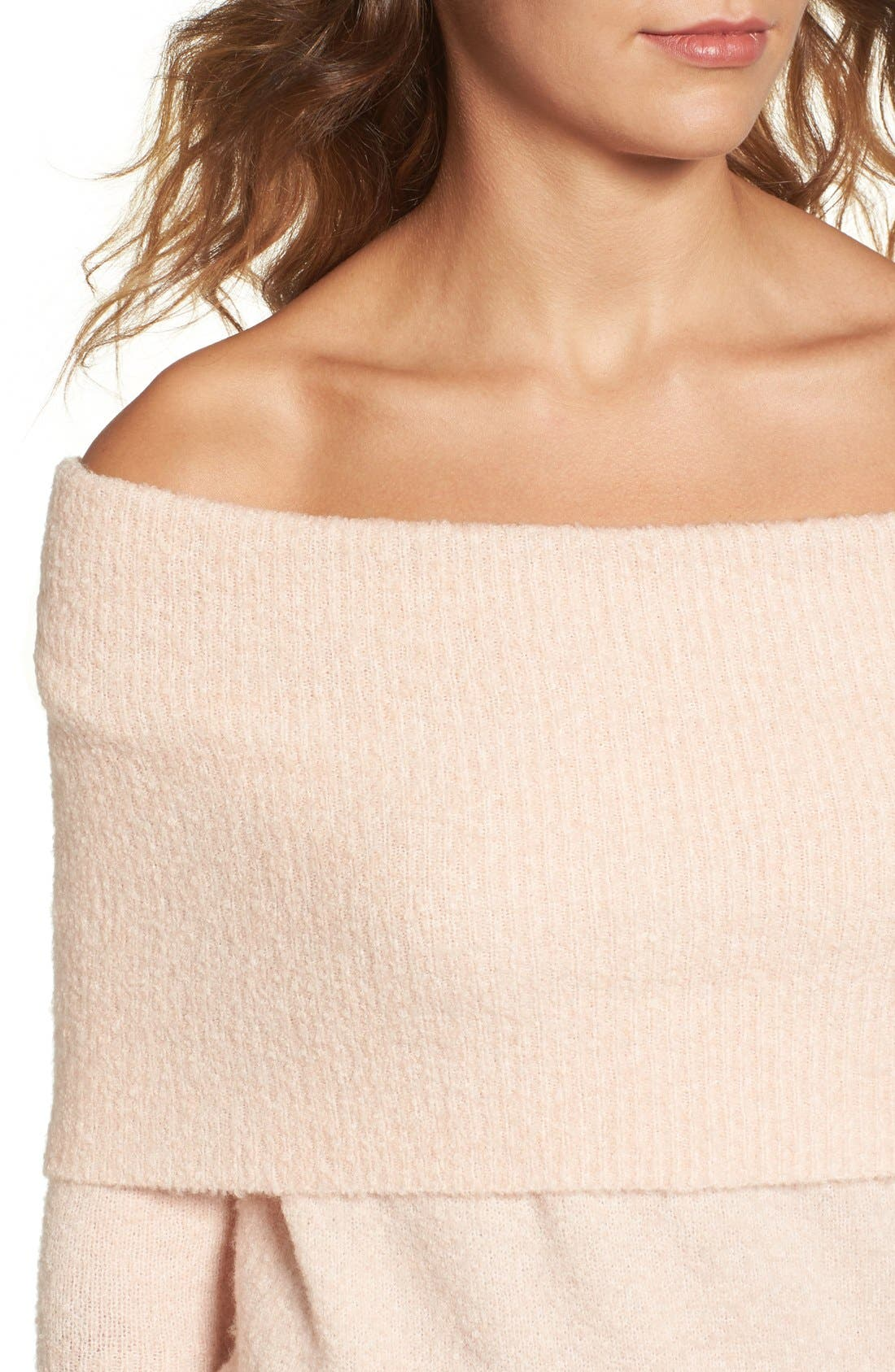 Off the Shoulder Tunic,                             Alternate thumbnail 24, color,