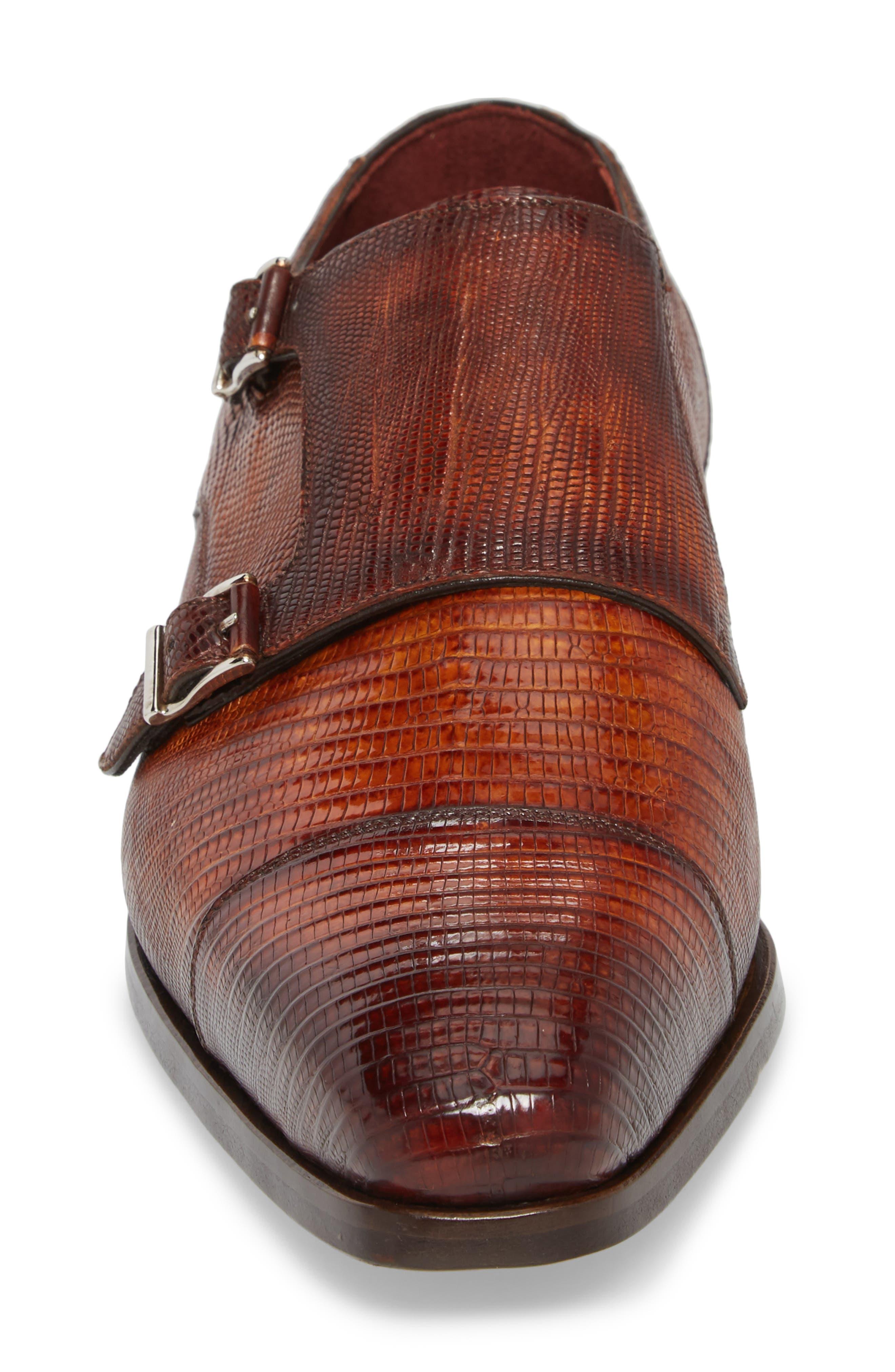 Isaac Cap Toe Monk Shoe,                             Alternate thumbnail 4, color,                             219