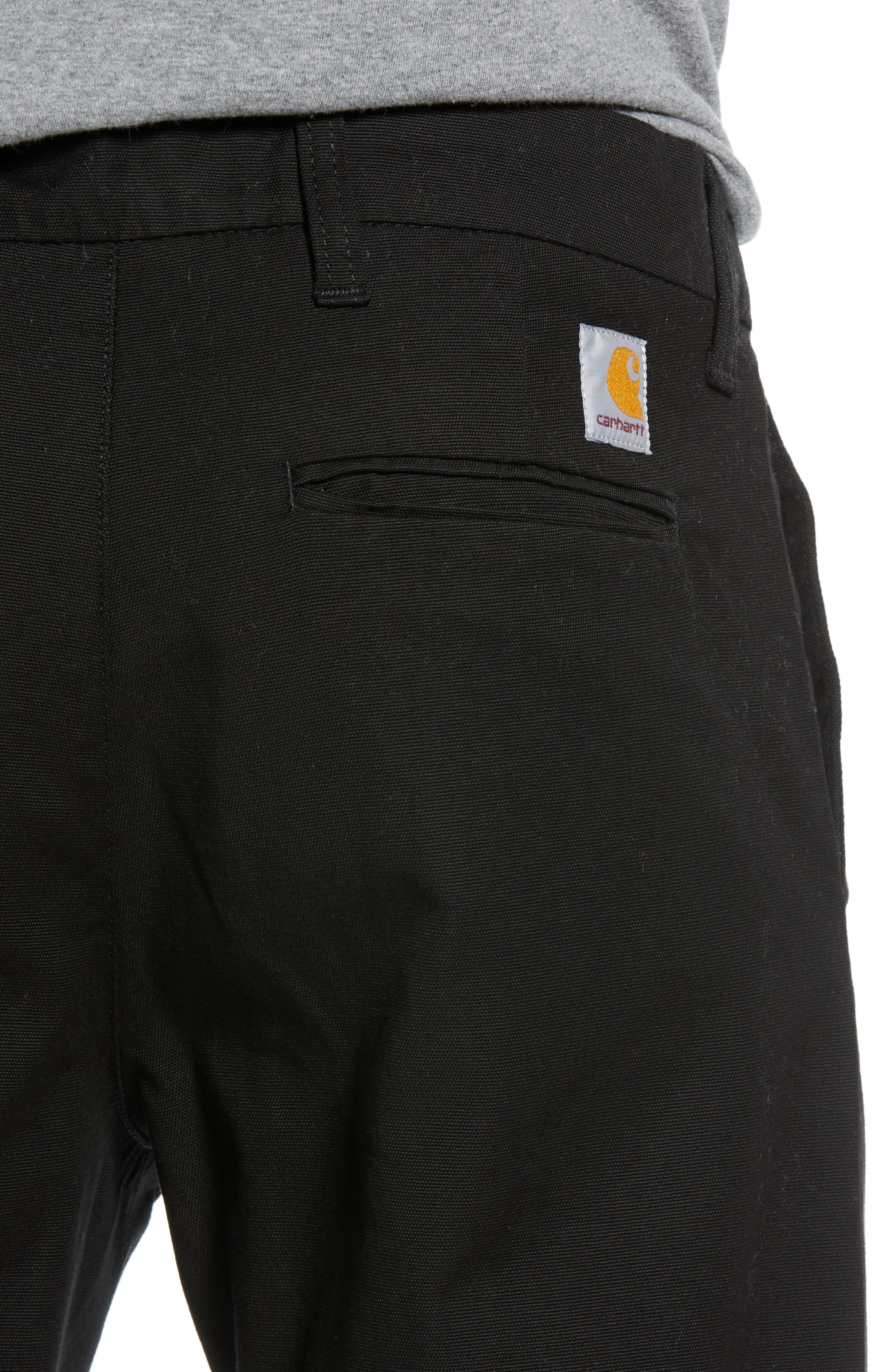 Sid Slim Fit Chinos,                             Alternate thumbnail 4, color,                             001