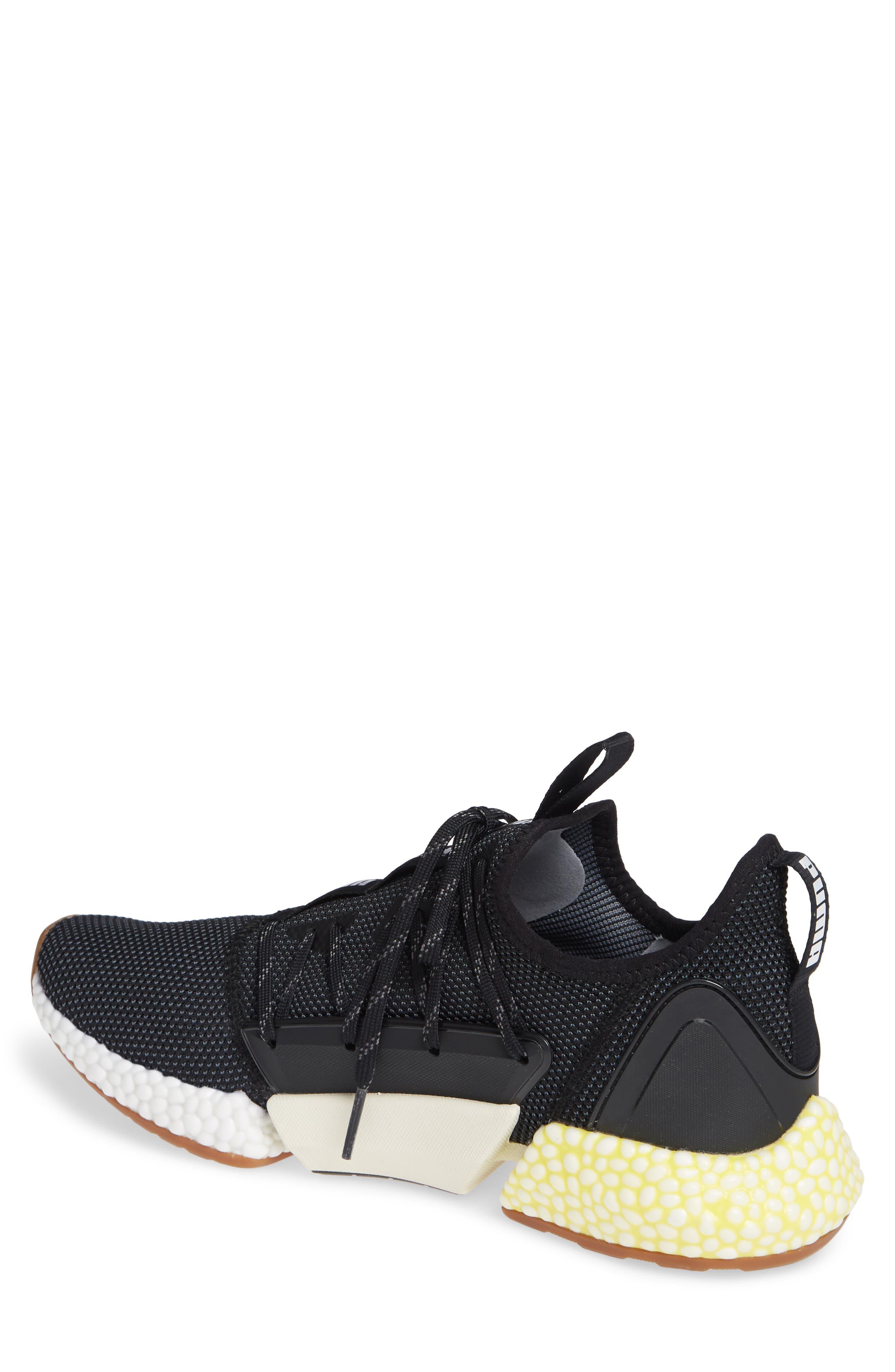 Hybrid Rocket Runner Sneaker,                             Alternate thumbnail 2, color,                             BLACK/ WHITE/ BLAZING YELLOW