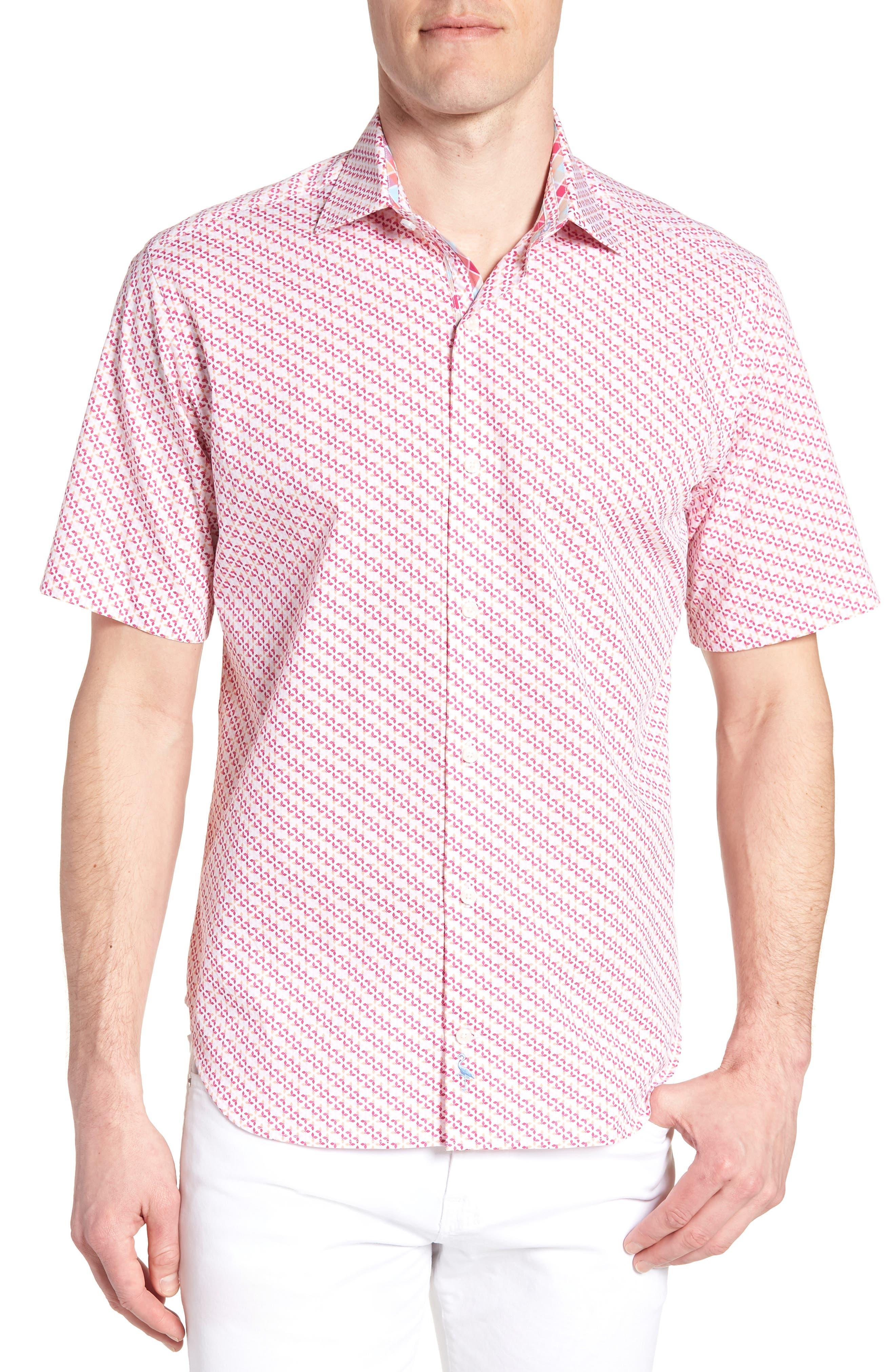 Albert Regular Fit Butterfly Sport Shirt,                             Main thumbnail 1, color,