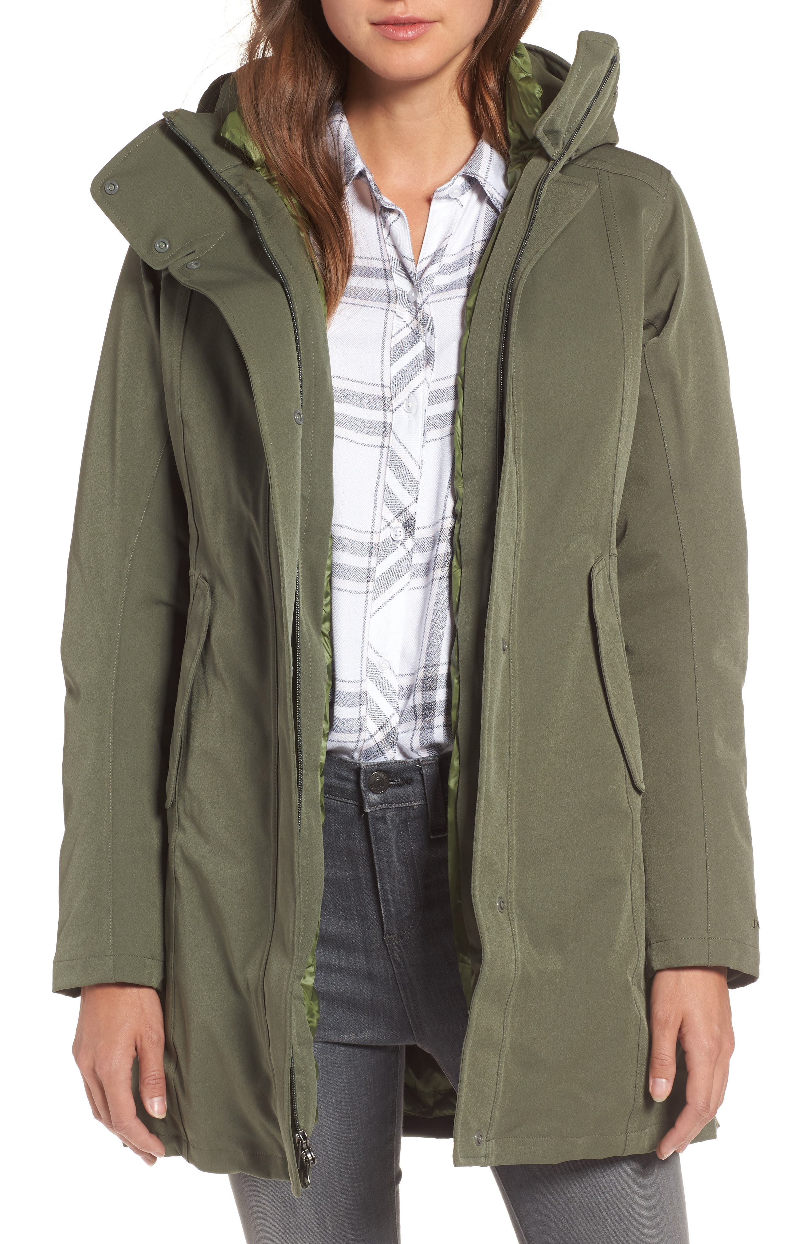 Tres Waterproof 3-in-1 Parka, Main, color, 301