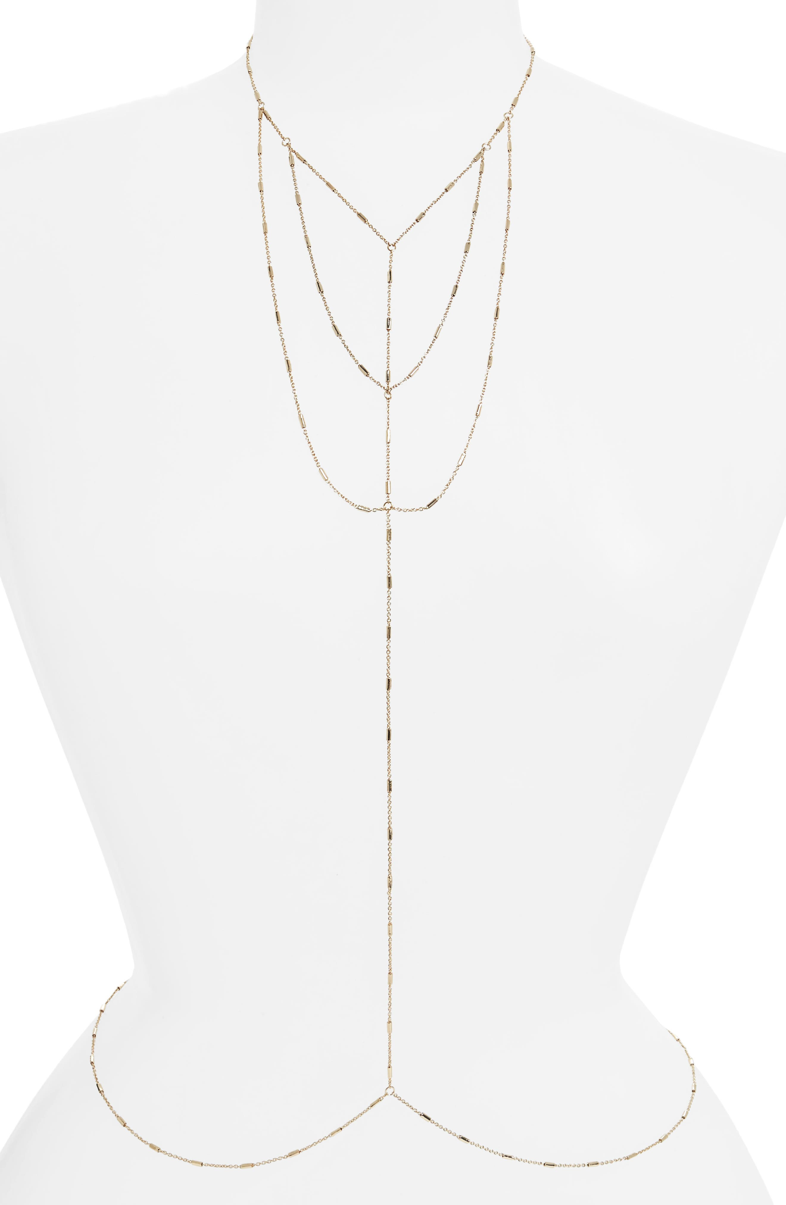 Fine Body Chain,                         Main,                         color,