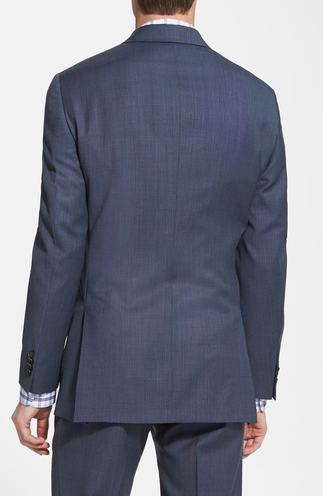 NY 2BTN SV FF CLASSIC FIT SUIT,                             Alternate thumbnail 5, color,                             429