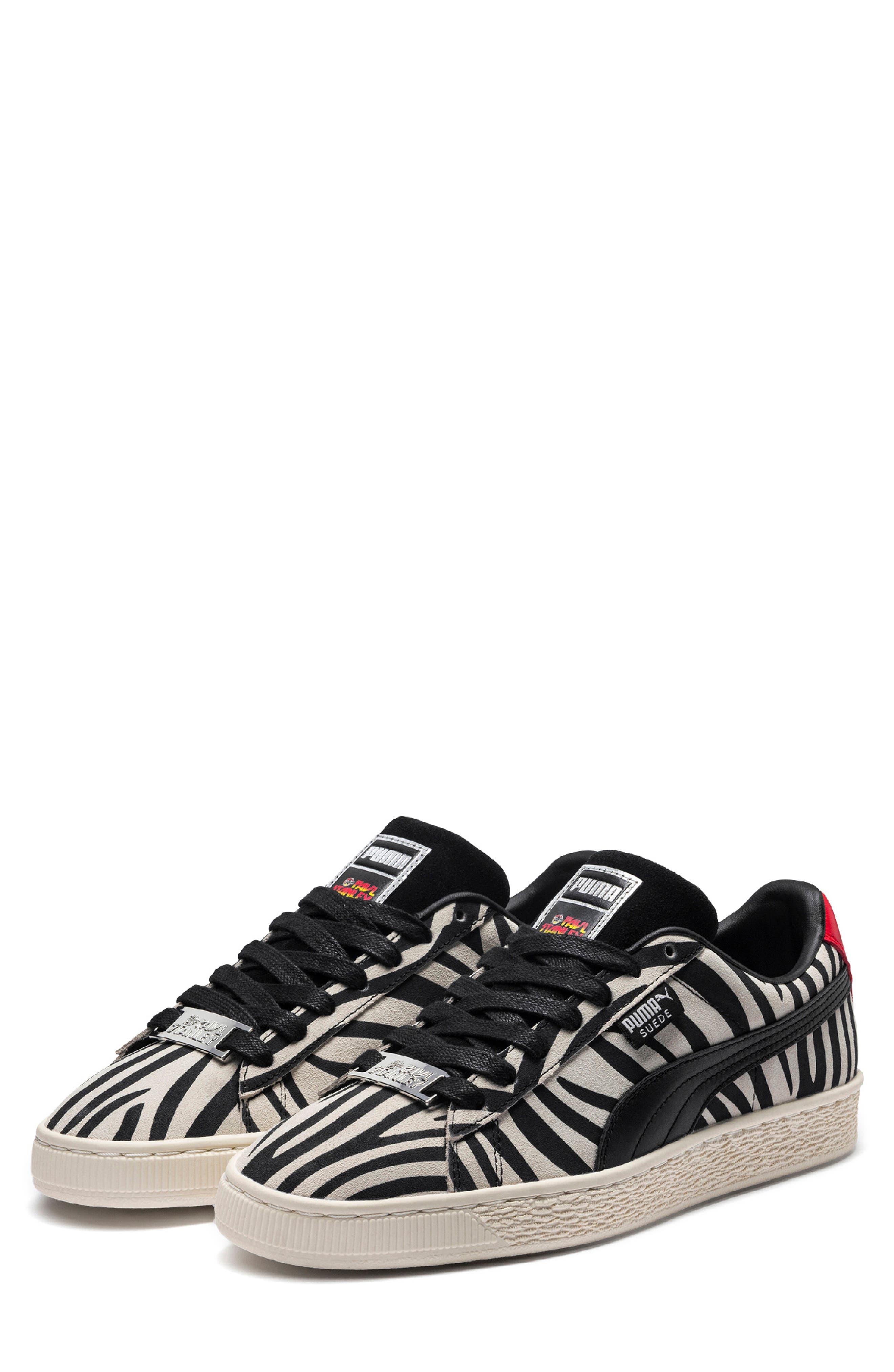 x Paul Stanley Suede Classic Sneaker,                             Main thumbnail 1, color,                             100