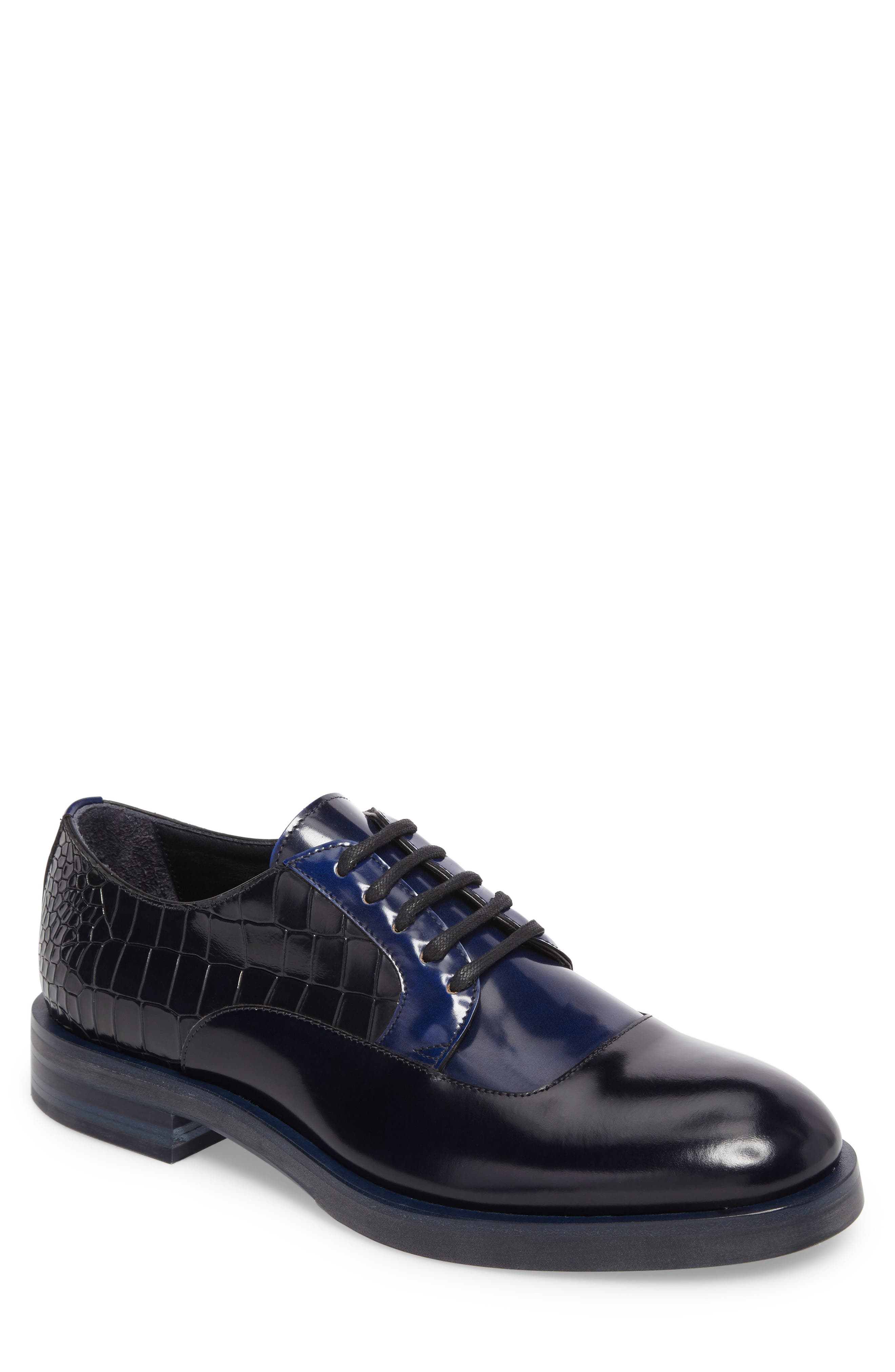 Bolan Croc Embossed Oxford,                         Main,                         color, 410