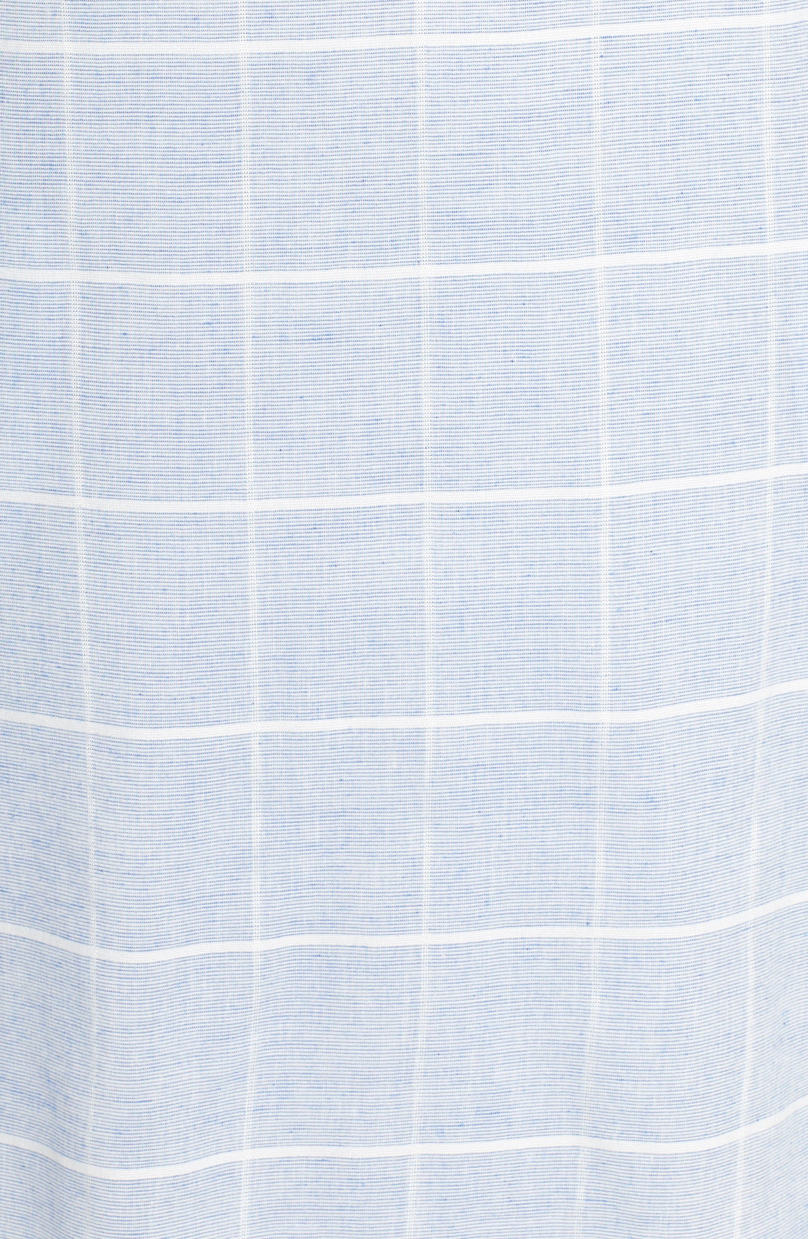 Cotton A-Line Dress,                             Alternate thumbnail 5, color,                             413