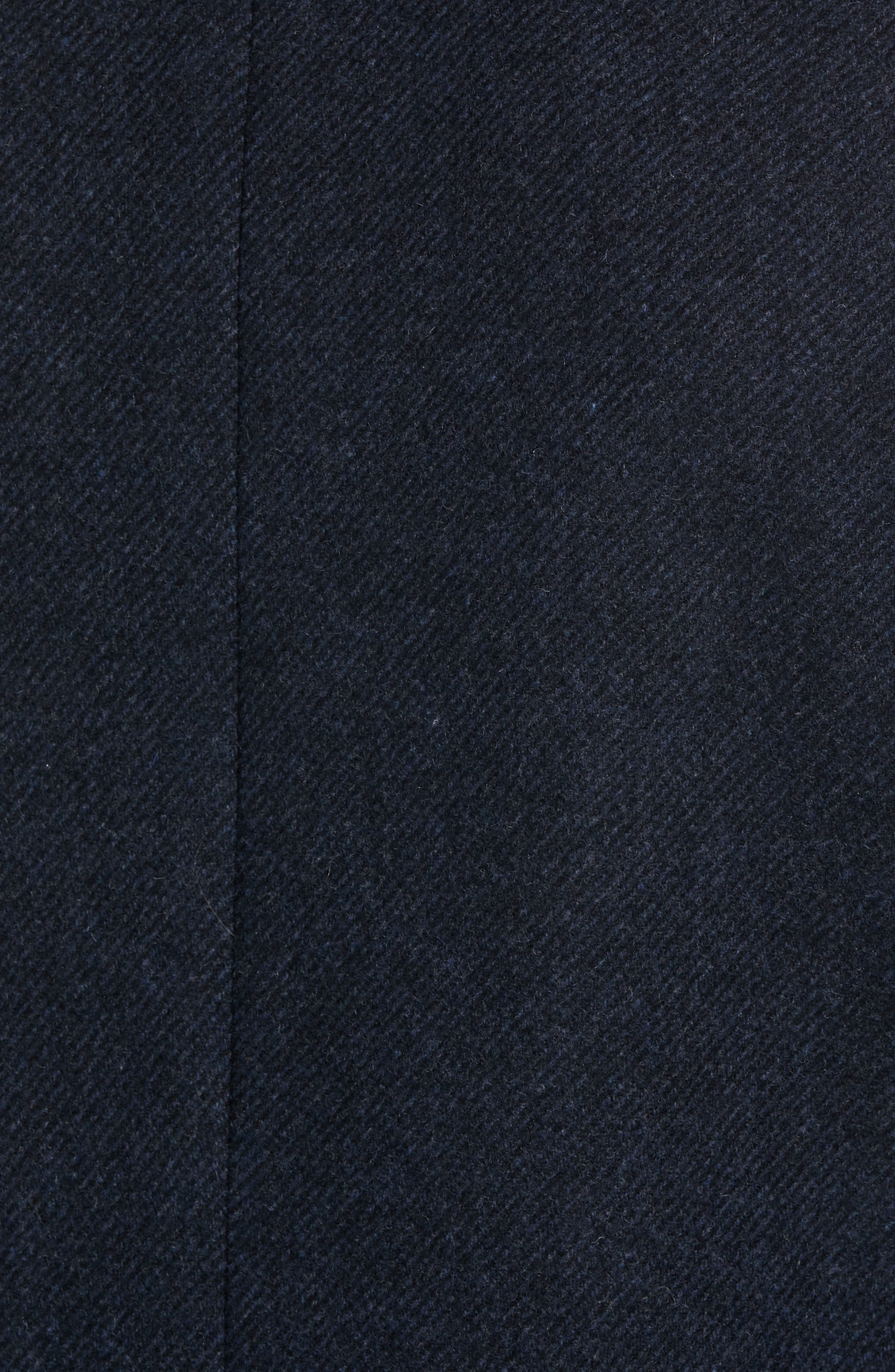Trim Fit Twill Topcoat,                             Alternate thumbnail 6, color,                             410
