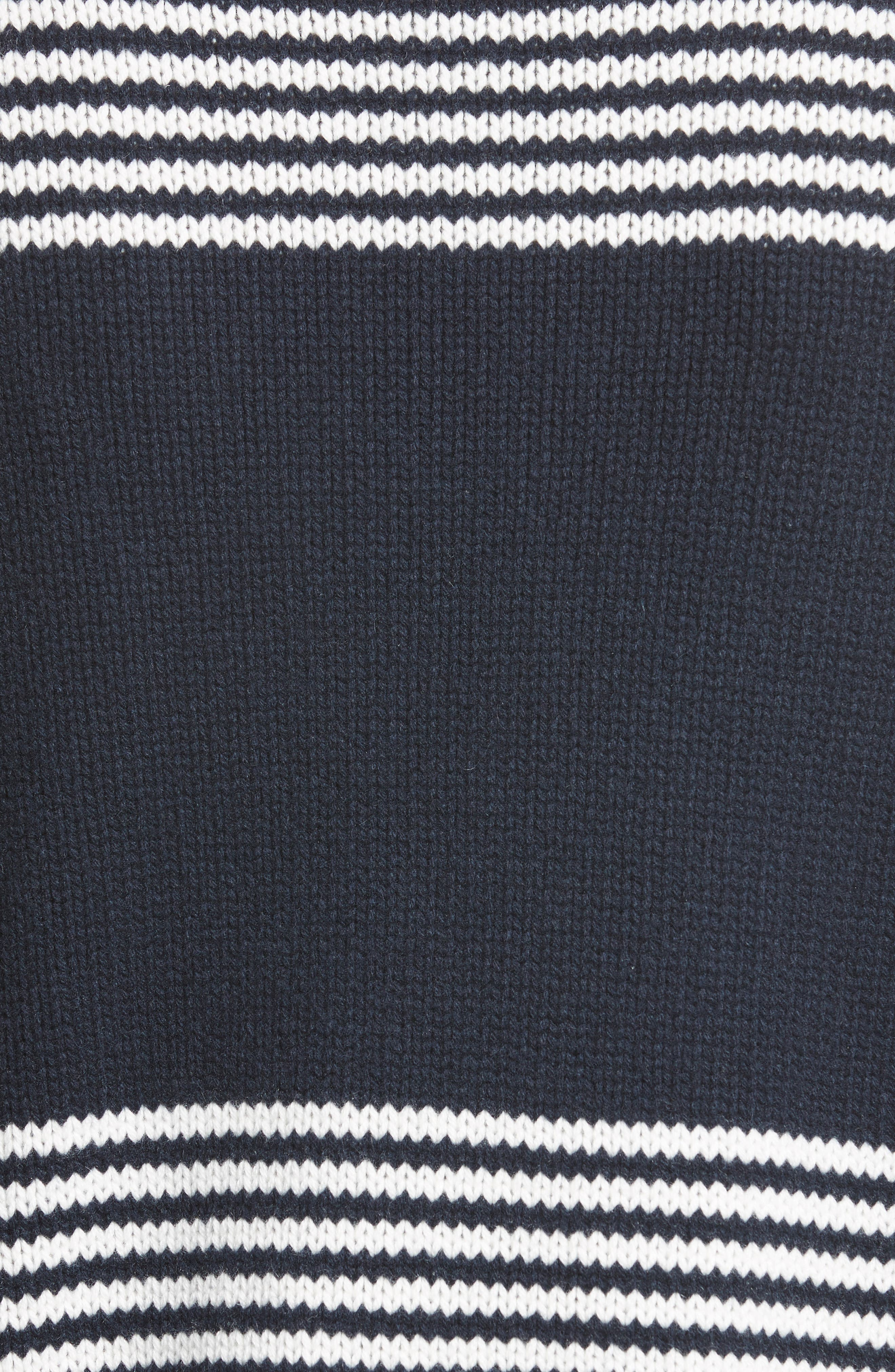 Maglione Stripe Wool & Cashmere Sweater,                             Alternate thumbnail 5, color,                             419