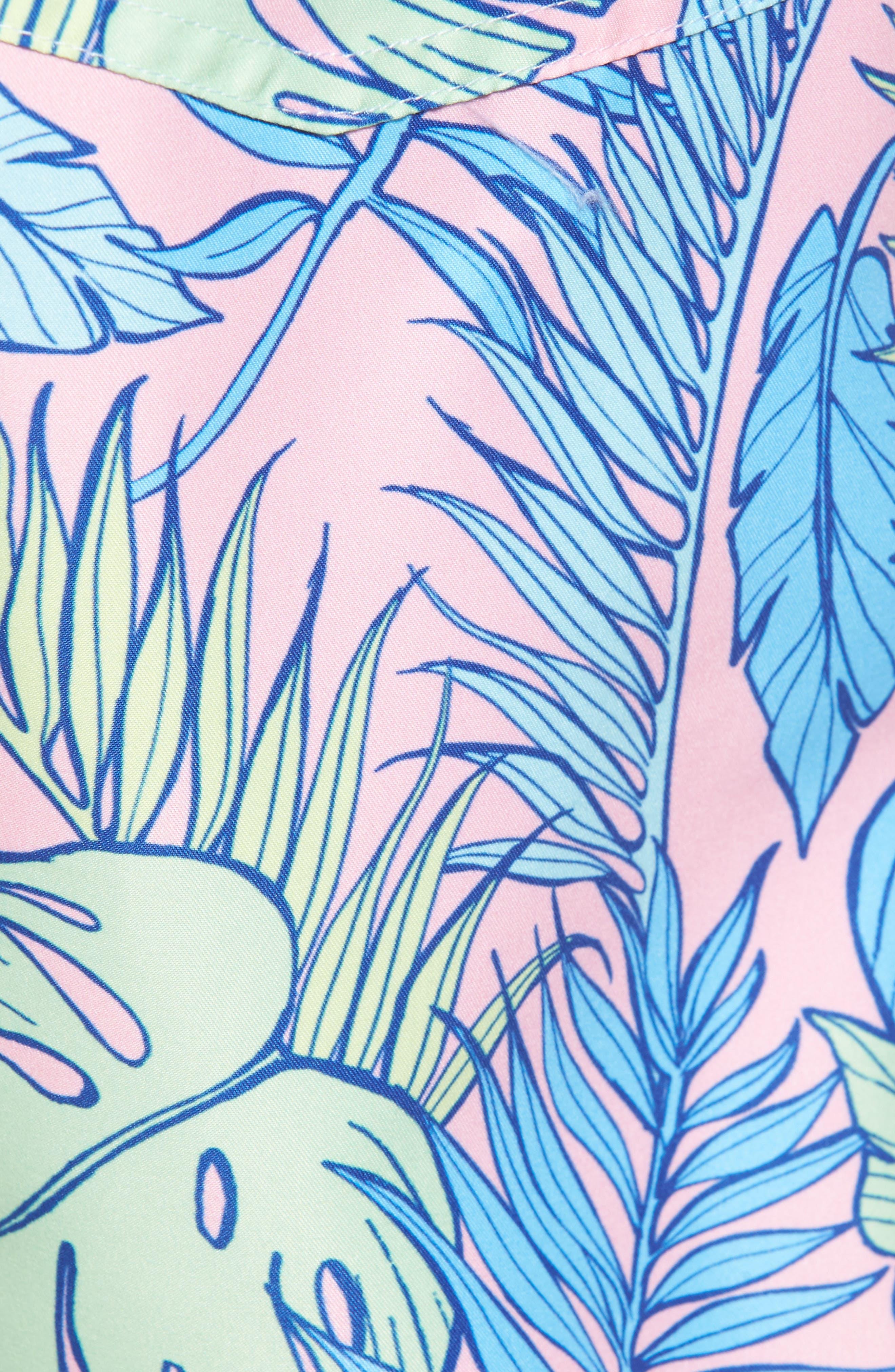 Palmtopia Swim Shorts,                             Alternate thumbnail 5, color,                             MULTI