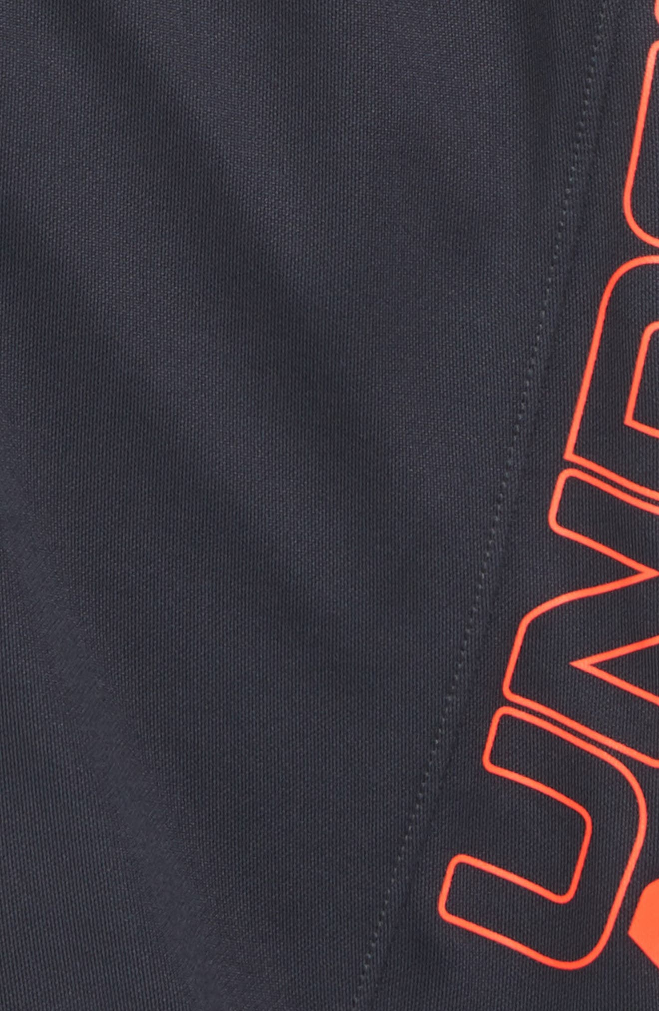 Kick Off HeatGear<sup>®</sup> Shorts,                             Alternate thumbnail 2, color,                             ANTHRACITE