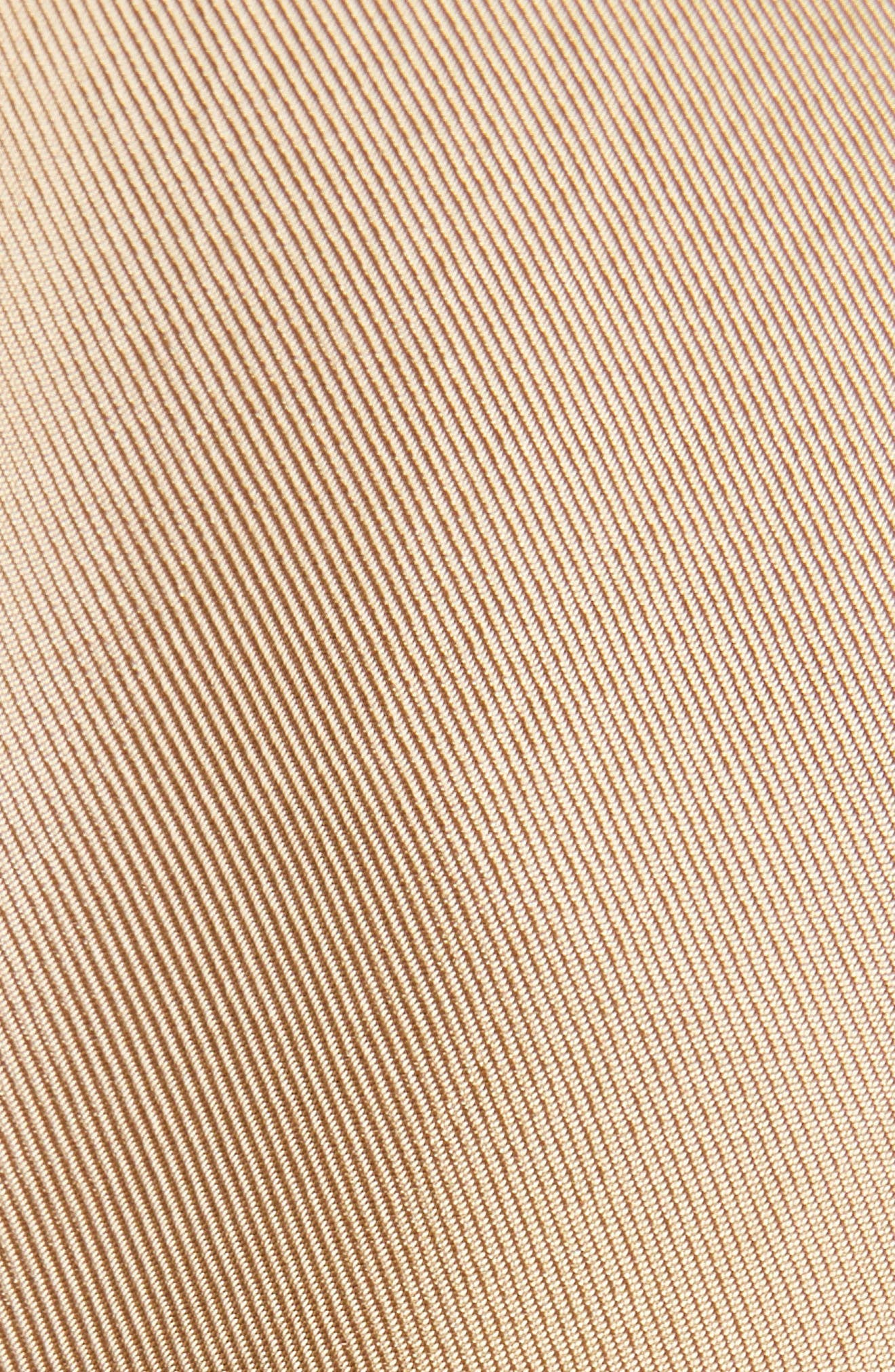 Twill Dress,                             Alternate thumbnail 5, color,                             BEIGE