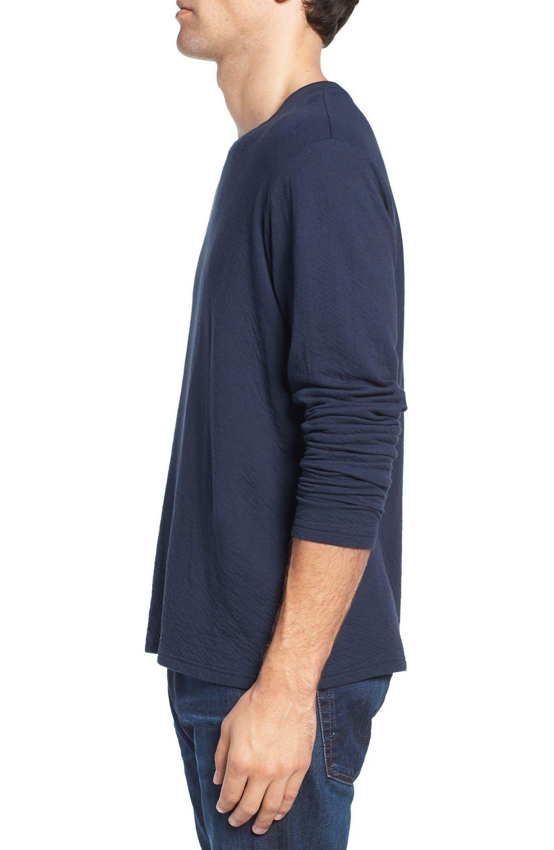 Long Sleeve Crewneck T-Shirt,                             Alternate thumbnail 10, color,