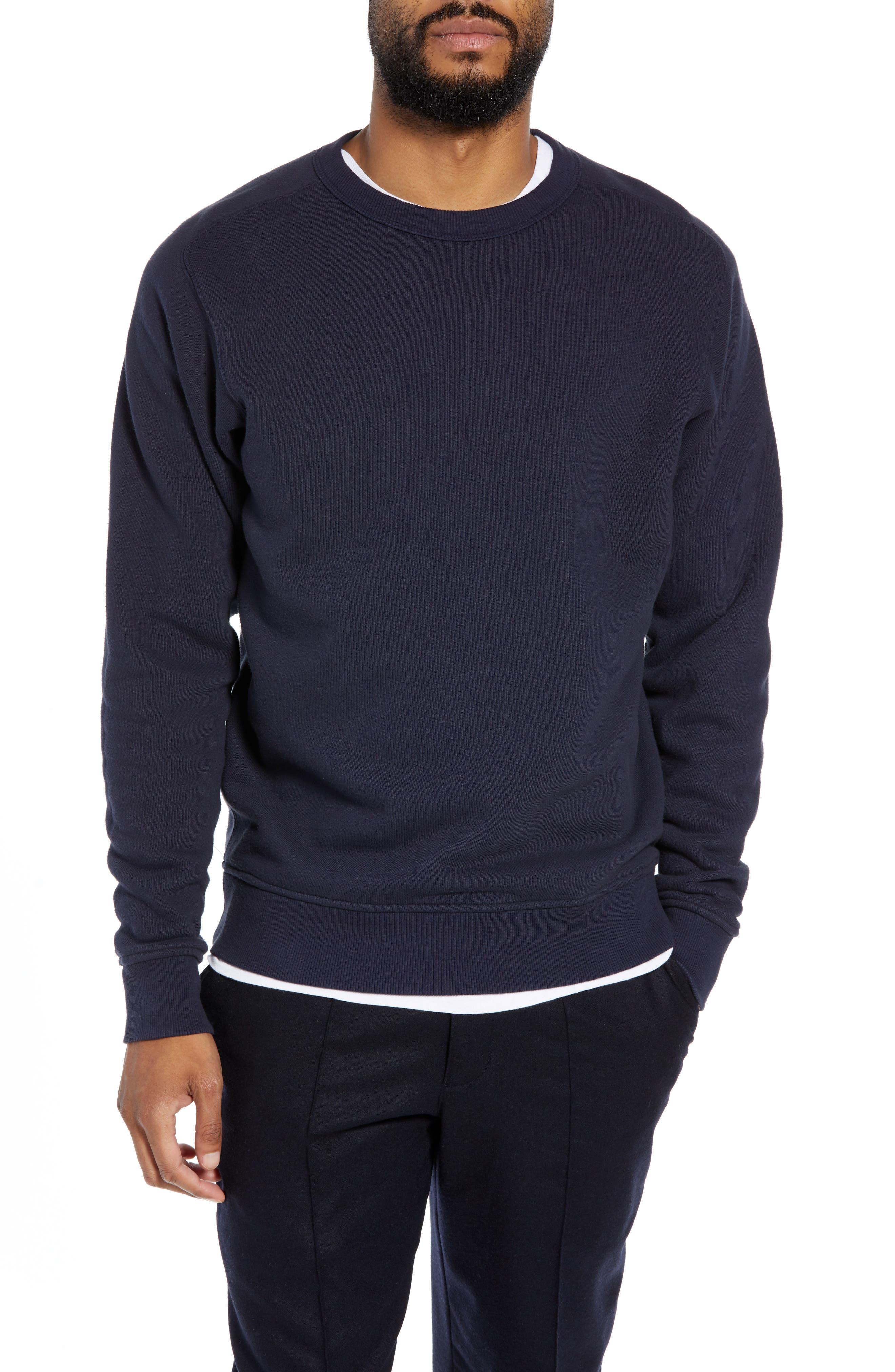 Almost Grown Crewneck Sweatshirt,                         Main,                         color, NAVY