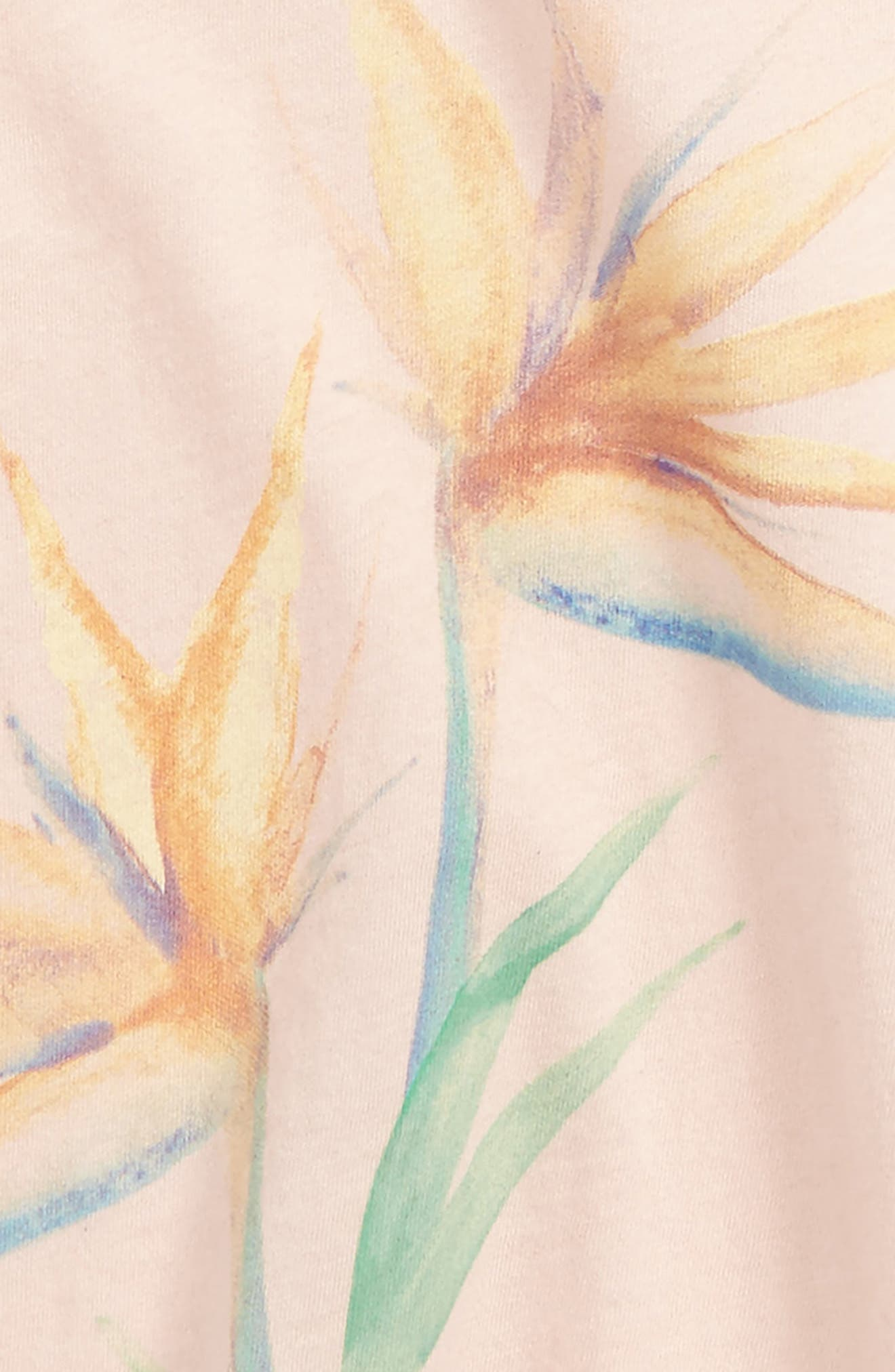 Paradise Bloom Graphic Tank,                             Alternate thumbnail 4, color,