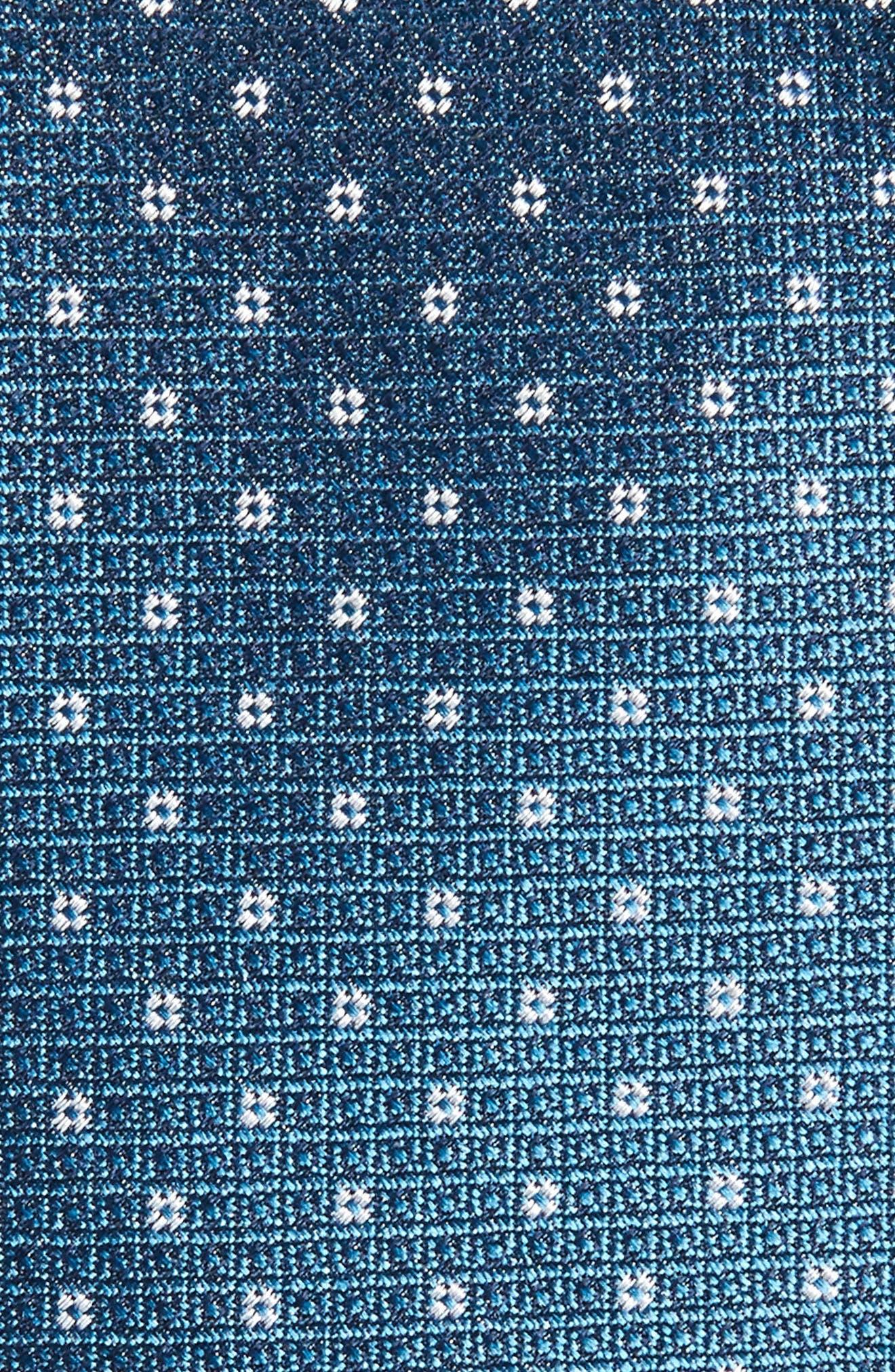 Denson Neat Silk Tie,                             Alternate thumbnail 11, color,