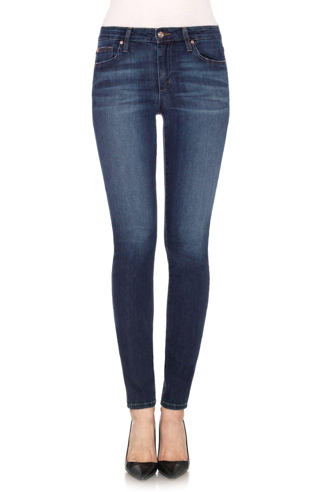 'Flawless' Cigarette Leg Jeans,                             Main thumbnail 1, color,                             400