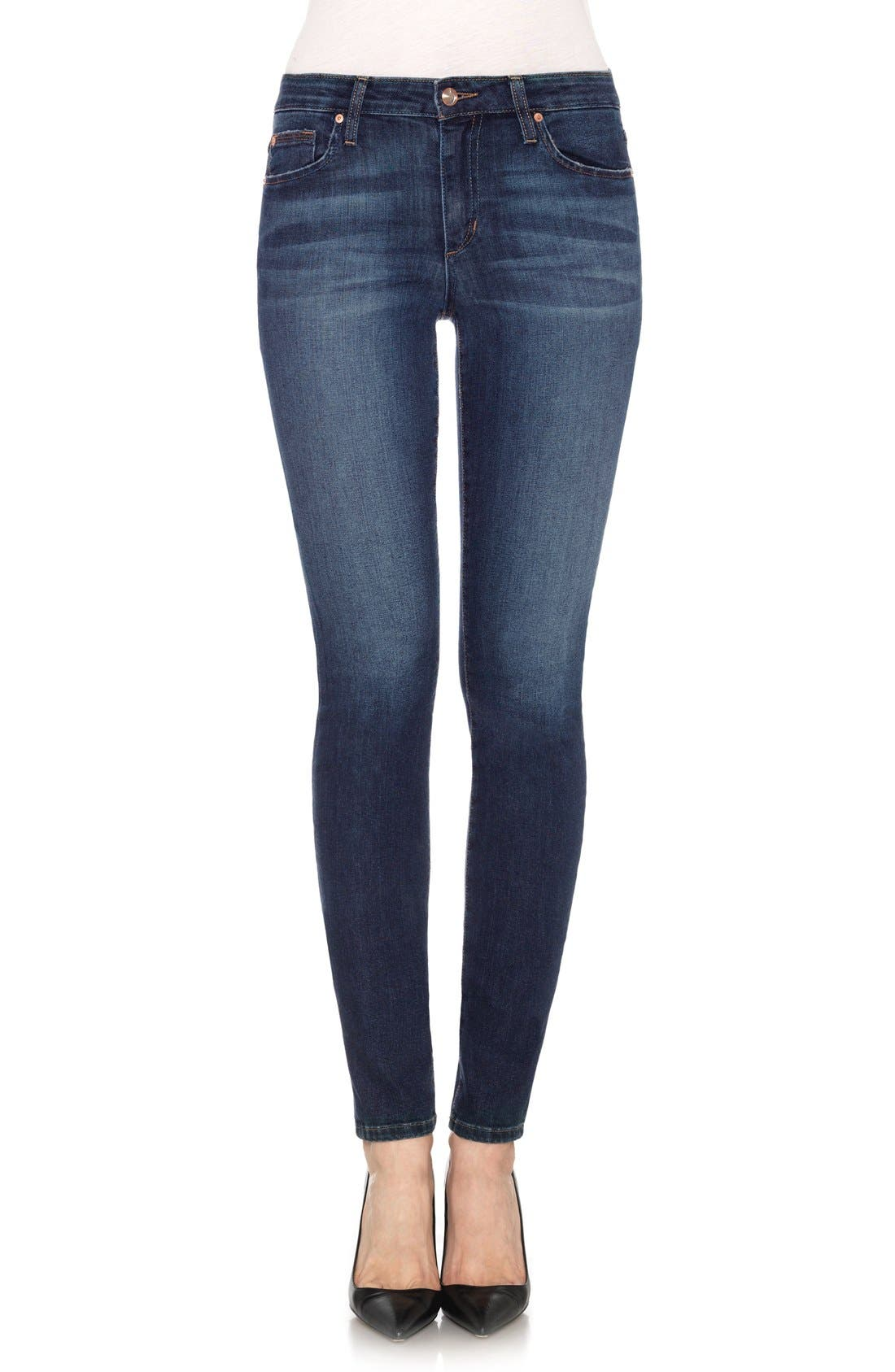 'Flawless' Cigarette Leg Jeans,                         Main,                         color, 400