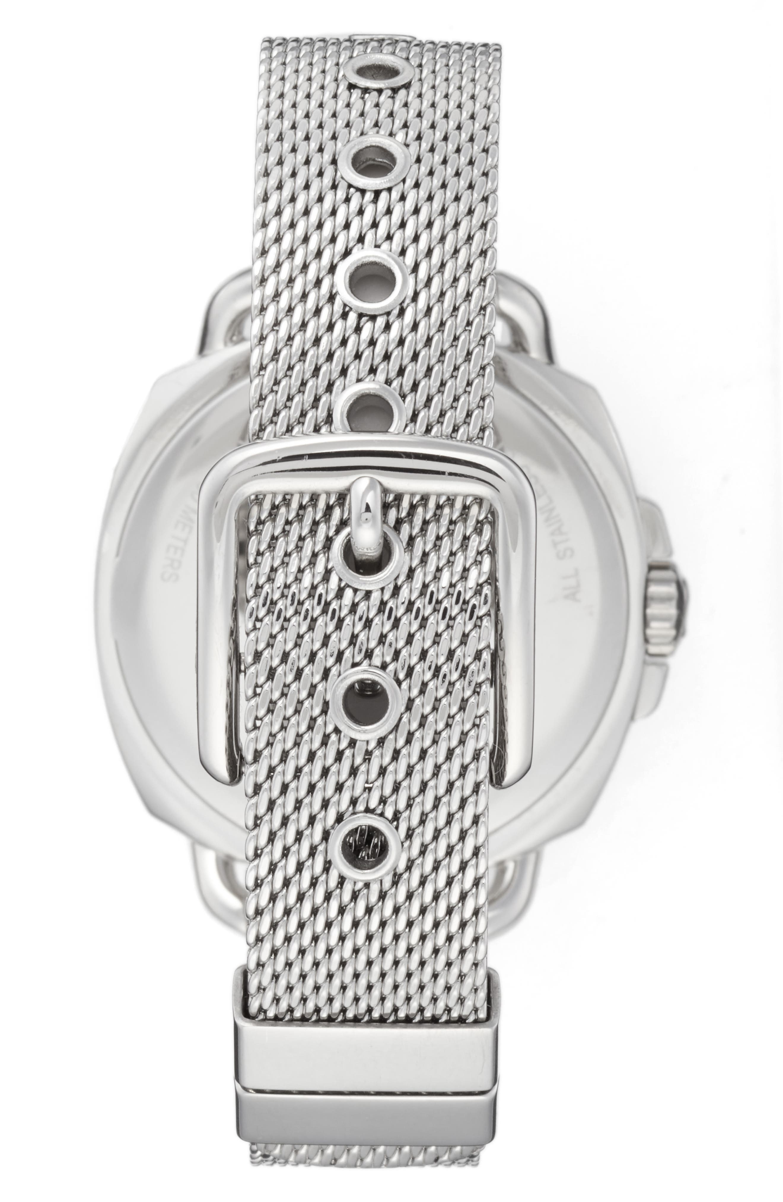 Tatum Crystal Mesh Strap Watch, 35mm,                             Alternate thumbnail 2, color,                             040