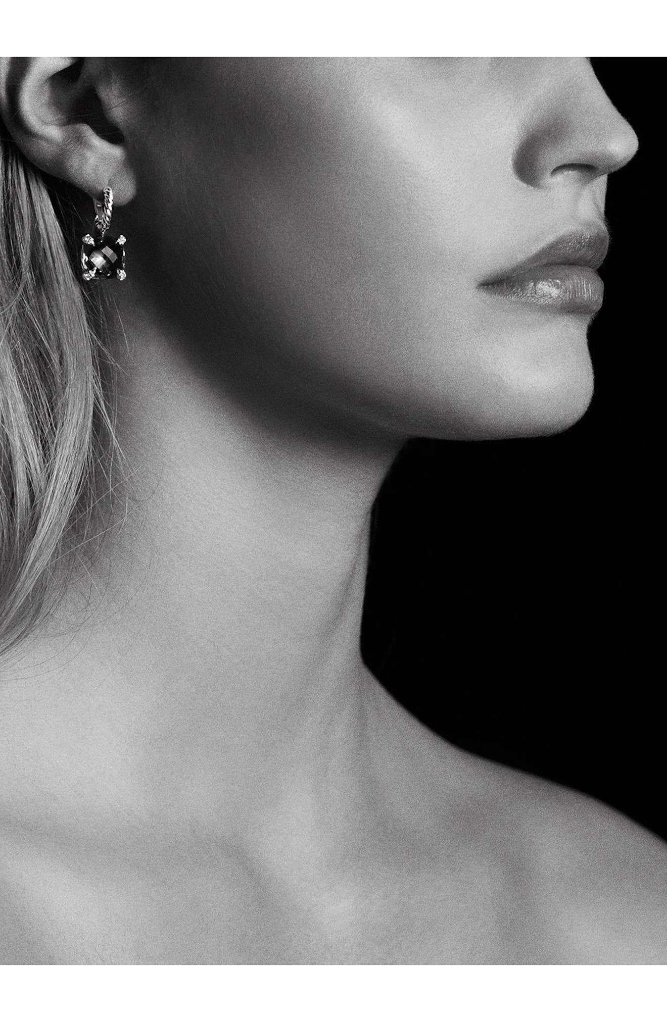 'Châtelaine' Drop Earrings with Semiprecious Stones and Diamonds,                             Alternate thumbnail 2, color,                             001