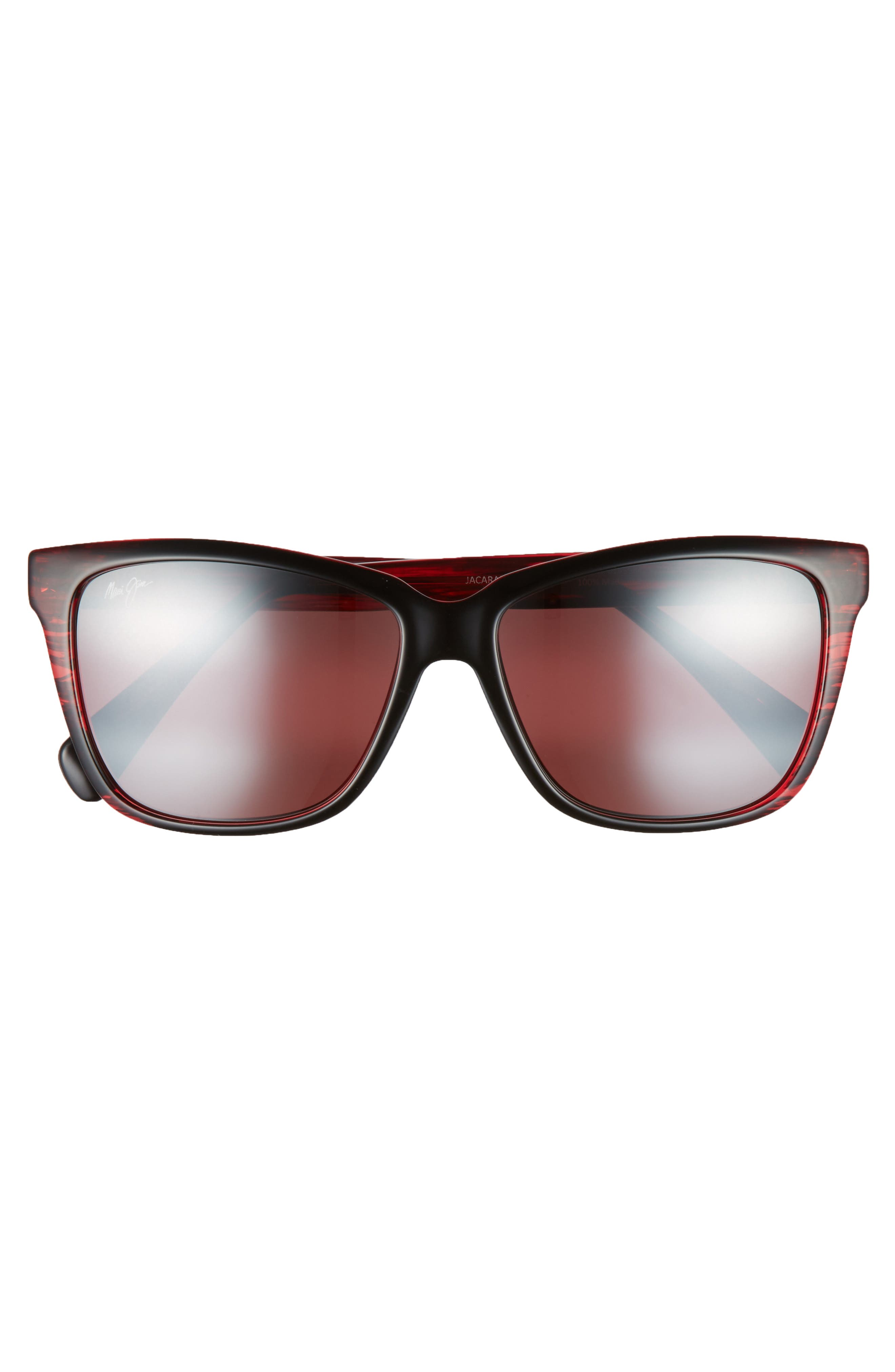 56mm Jacaranda Polarized Sunglasses,                             Alternate thumbnail 12, color,