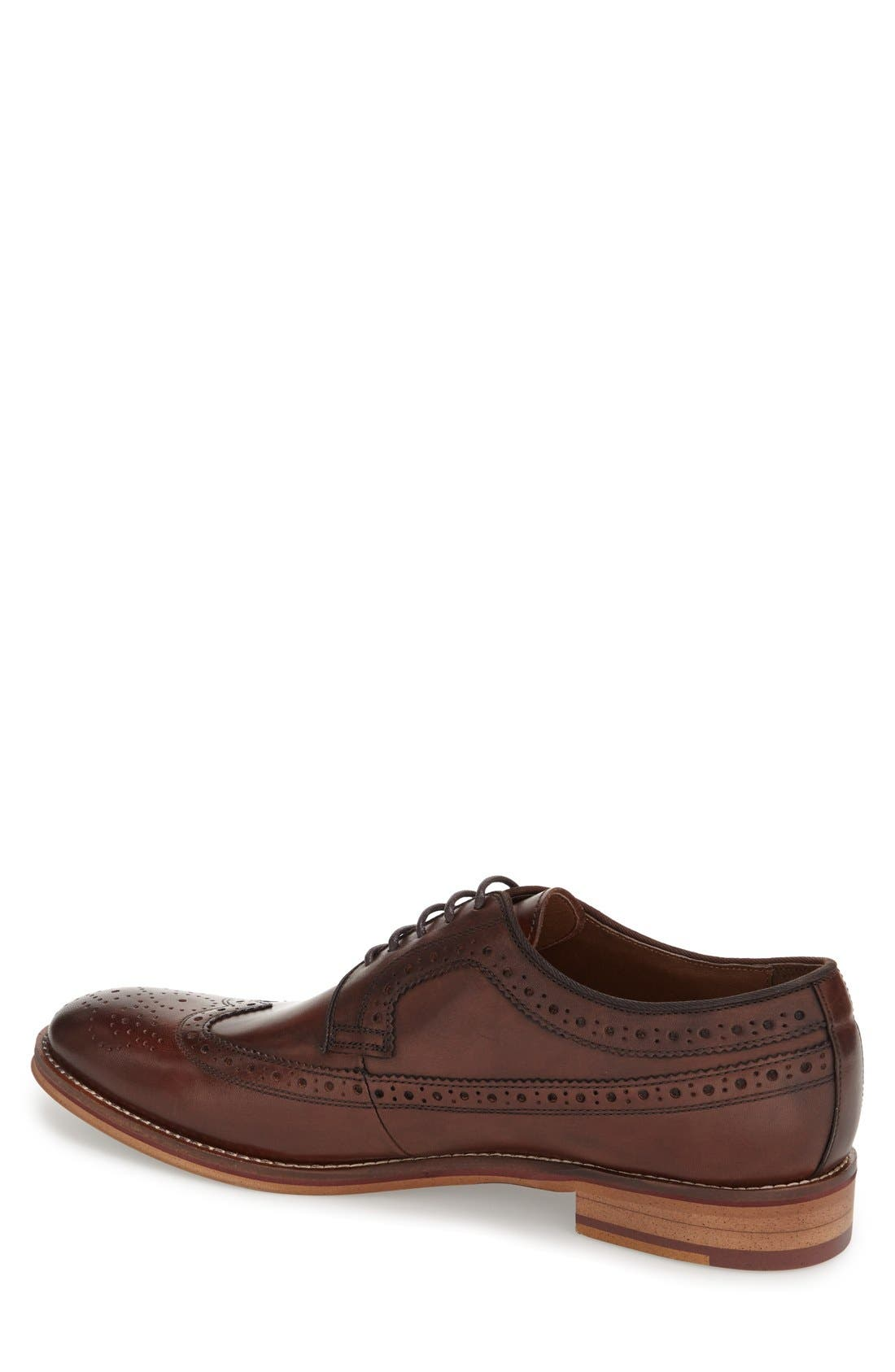 Conard Wingtip,                             Alternate thumbnail 2, color,                             MAHOGANY