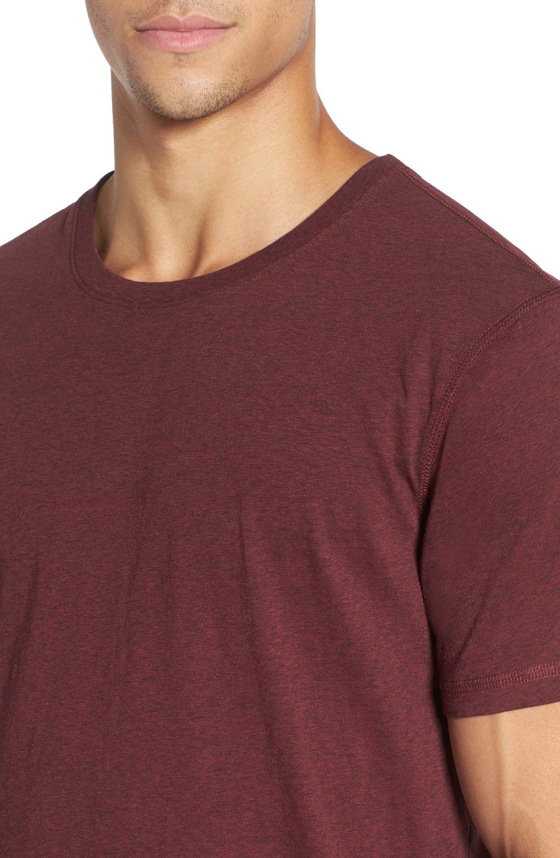 Recycled Cotton Blend T-Shirt,                             Alternate thumbnail 12, color,