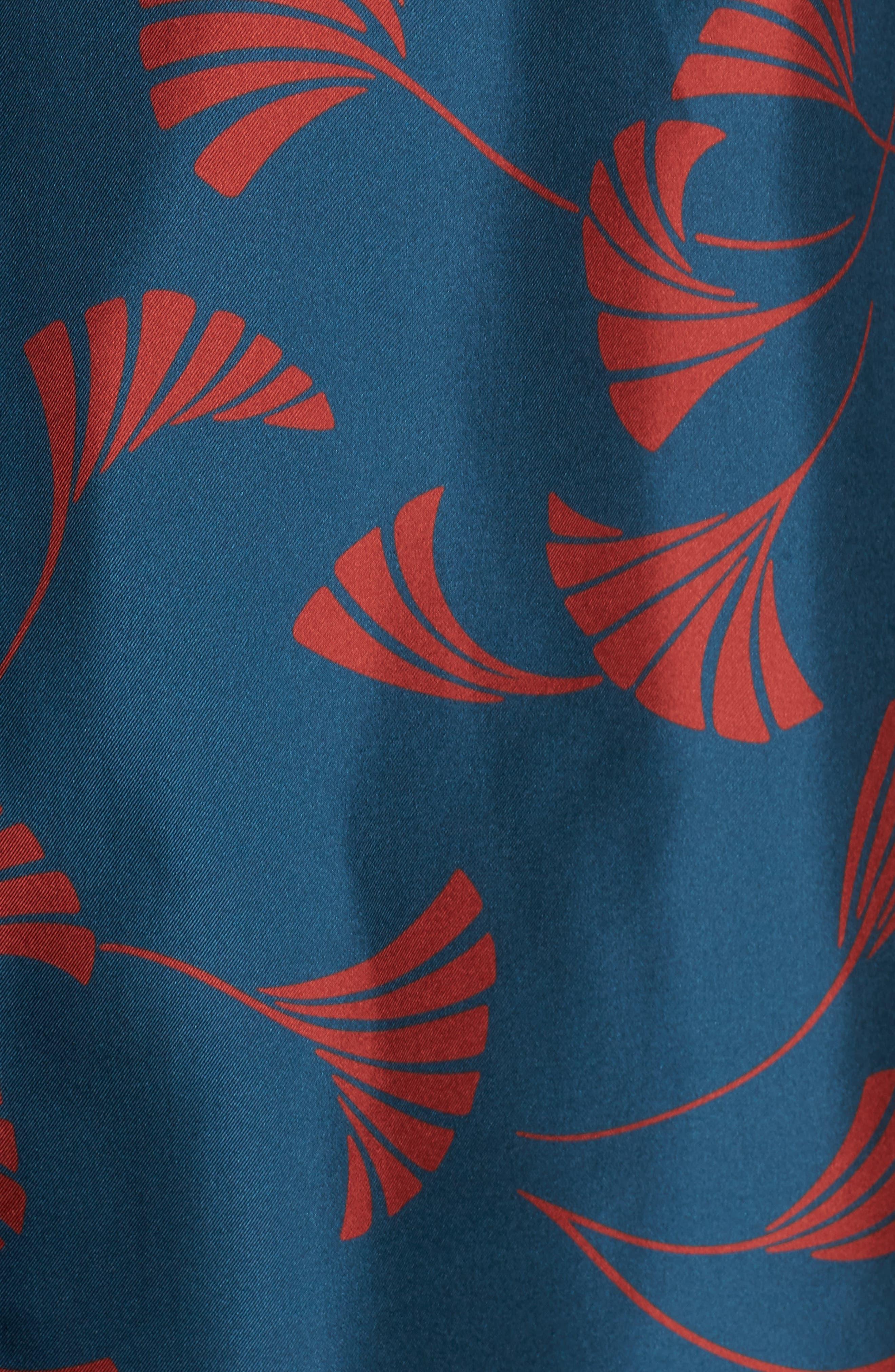 Brayden Silk Blouse,                             Alternate thumbnail 5, color,                             440