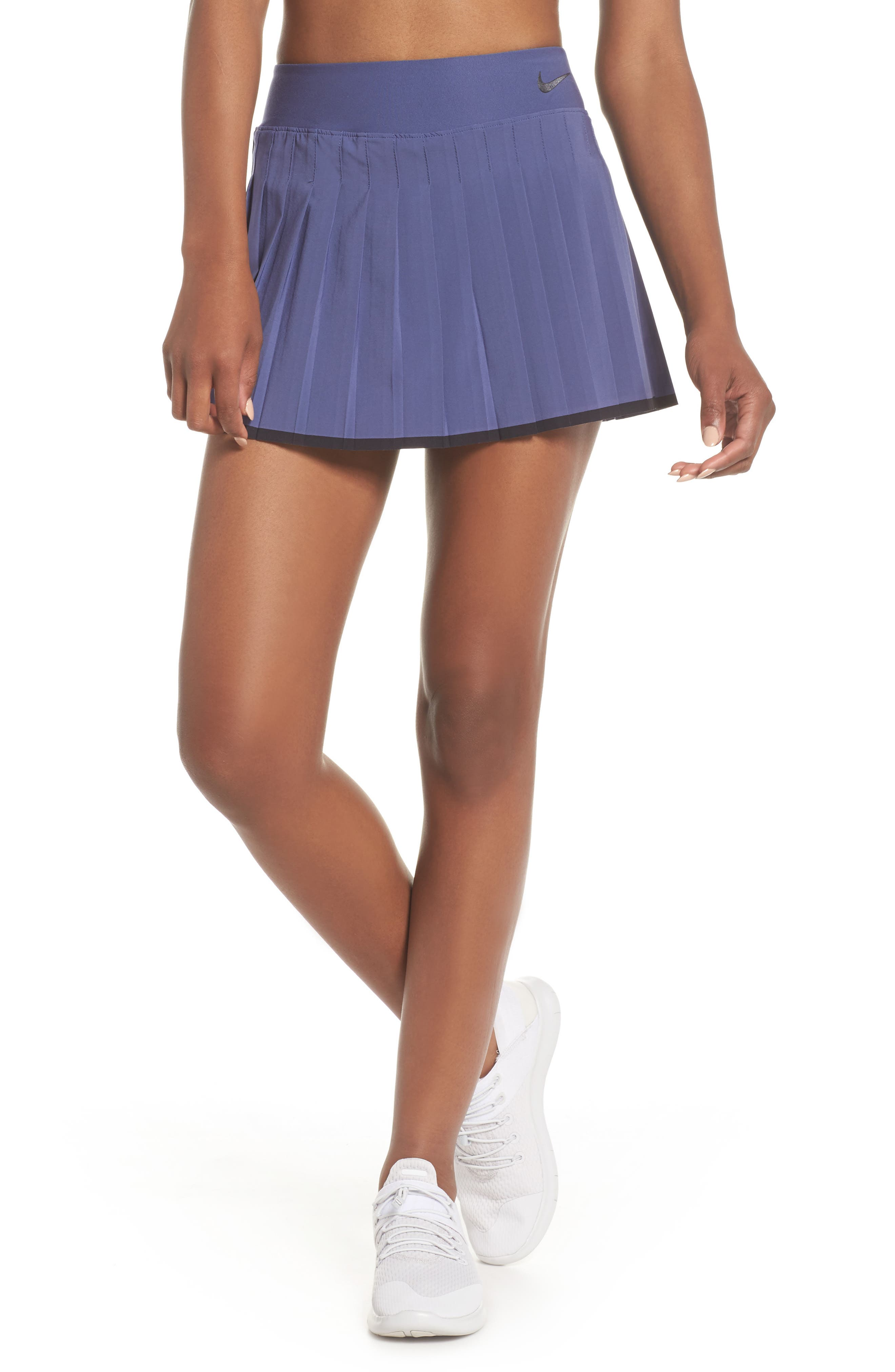 'Victory' Pleat Dri-FIT Tennis Skirt,                             Main thumbnail 2, color,