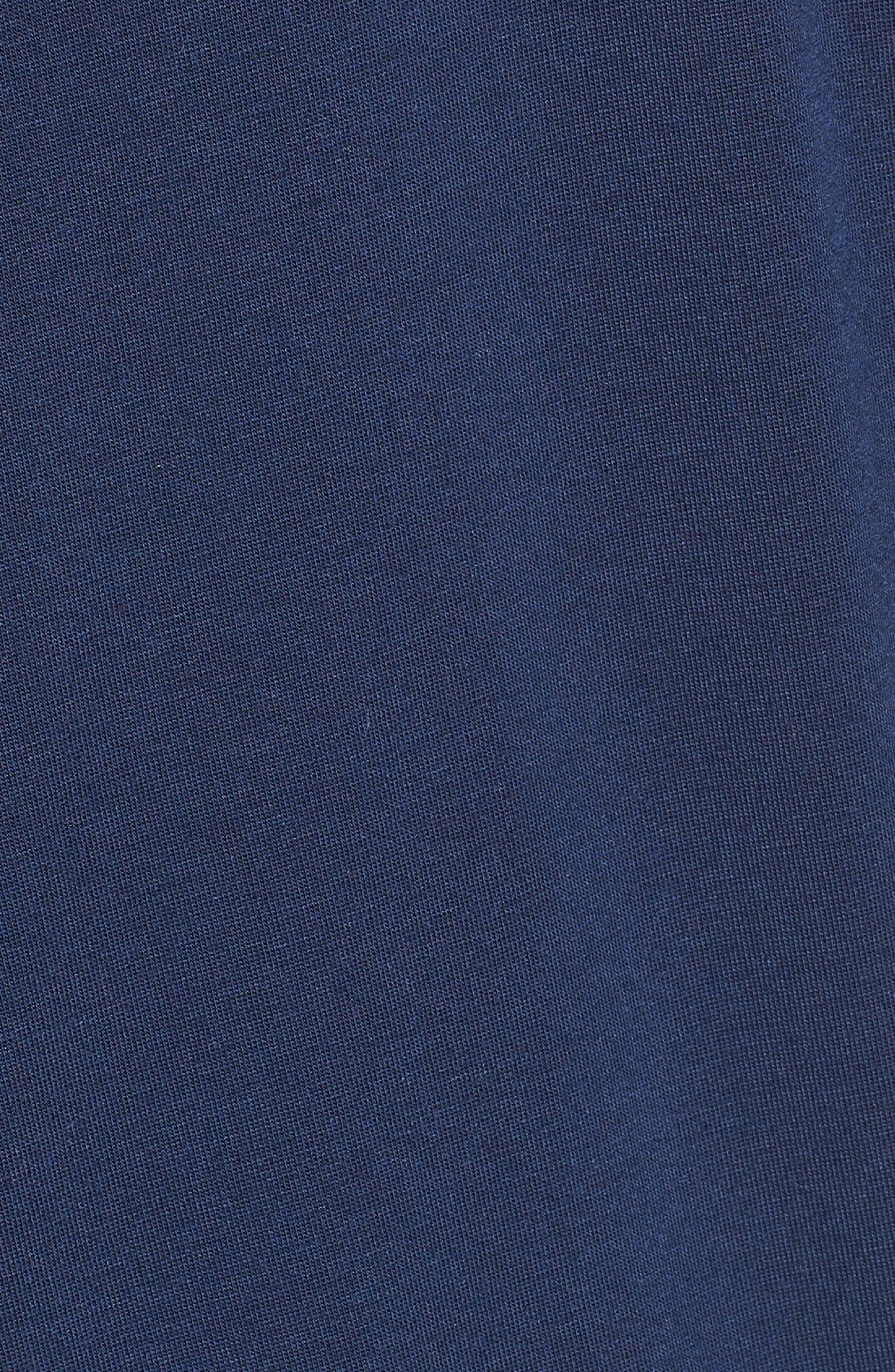 Michaela Stretch Modal Cardigan,                             Alternate thumbnail 5, color,                             NAVY