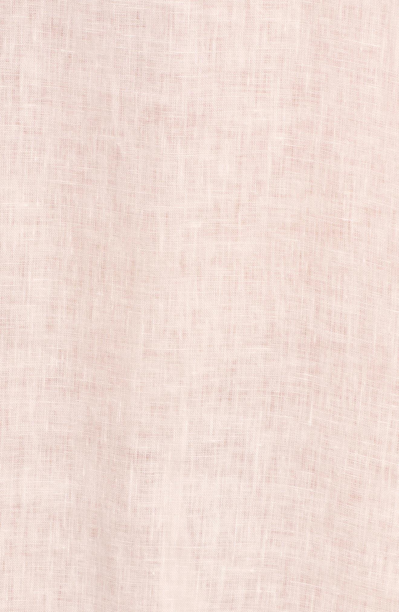 Rata Linen Shift Dress,                             Alternate thumbnail 7, color,                             680