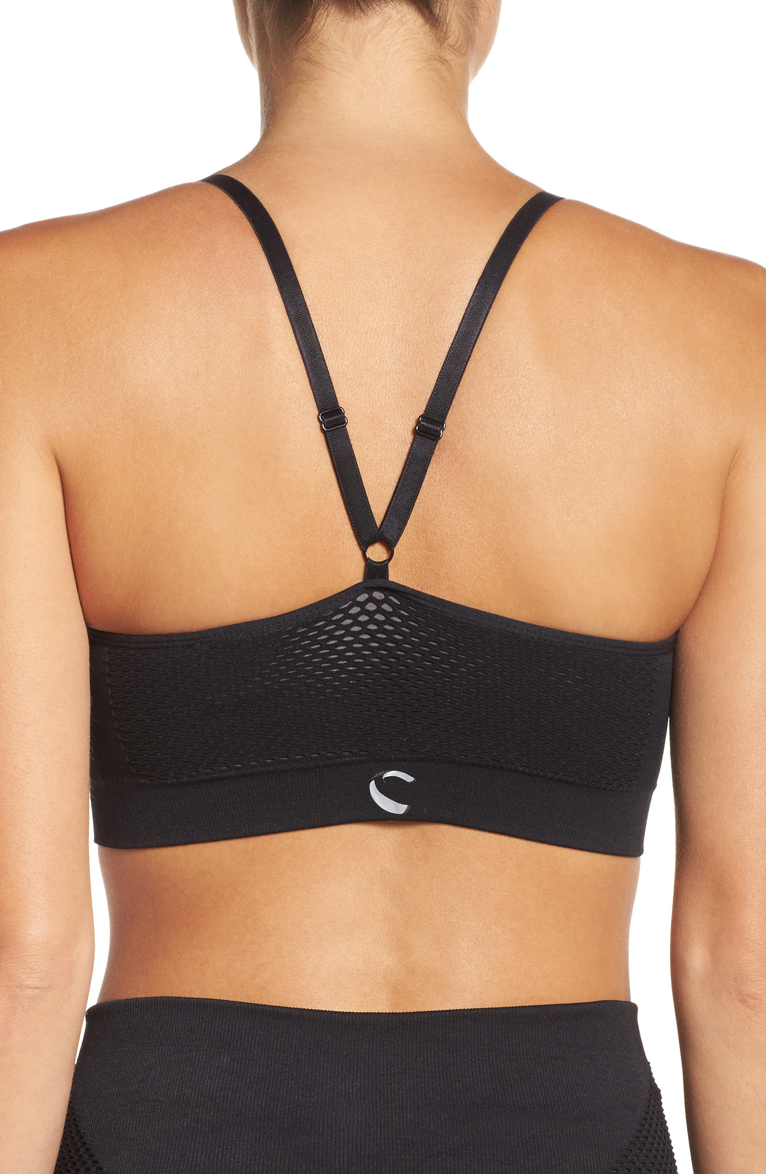 Victory Sports Bra,                             Alternate thumbnail 2, color,                             001