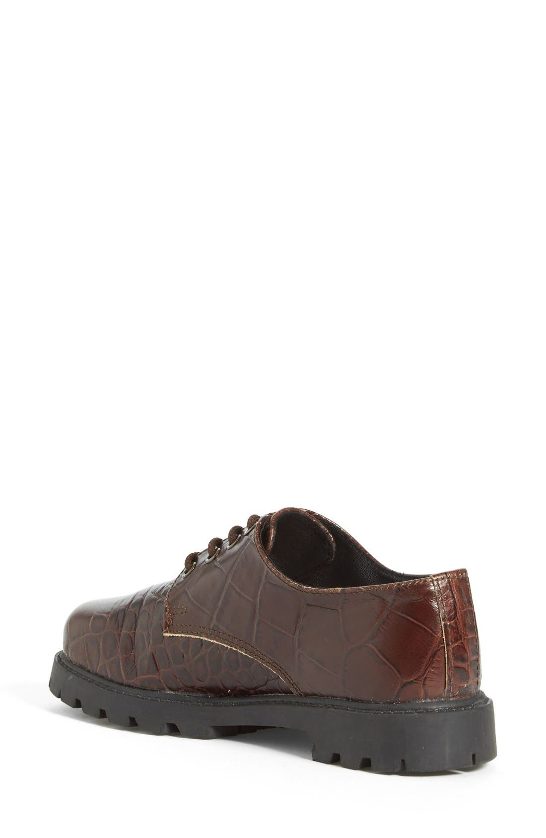 'School Shoe' Lace-Up Oxford,                             Alternate thumbnail 4, color,                             210