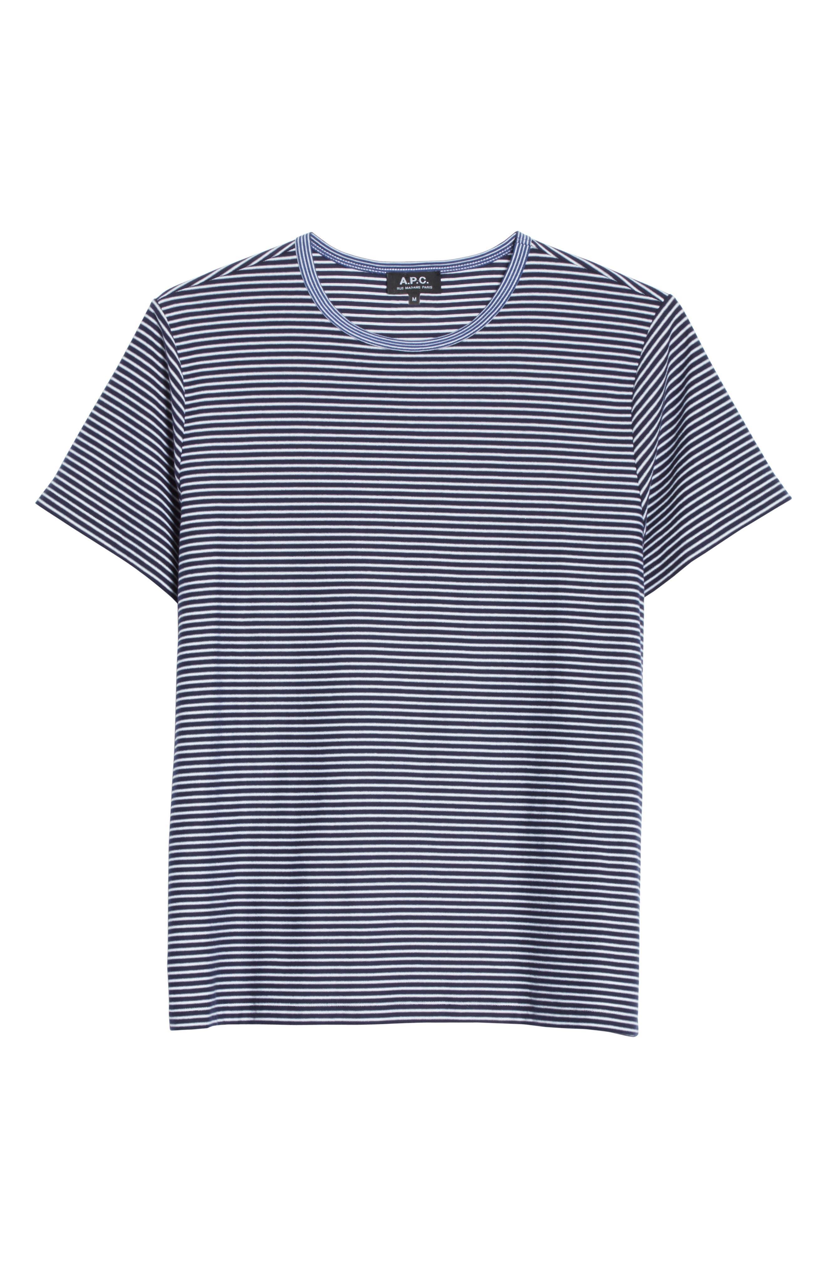 Maui Stripe T-Shirt,                             Alternate thumbnail 6, color,                             410