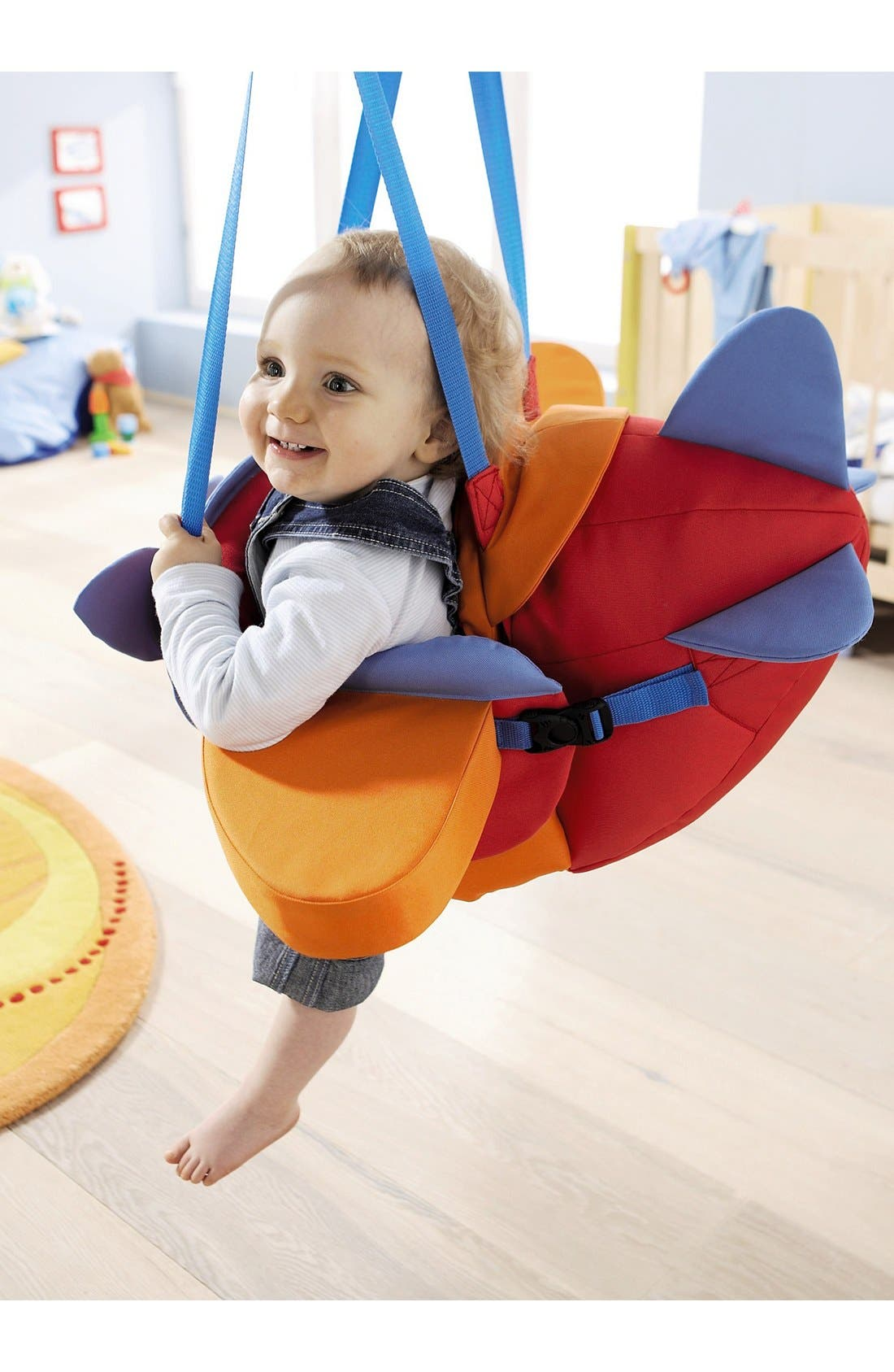 Aircraft Baby Swing,                             Alternate thumbnail 3, color,
