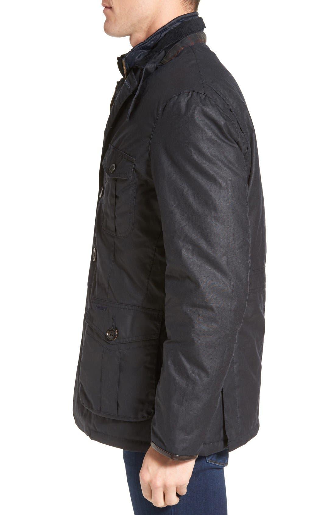 Torridon Wax Jacket with Bib,                             Alternate thumbnail 5, color,                             410