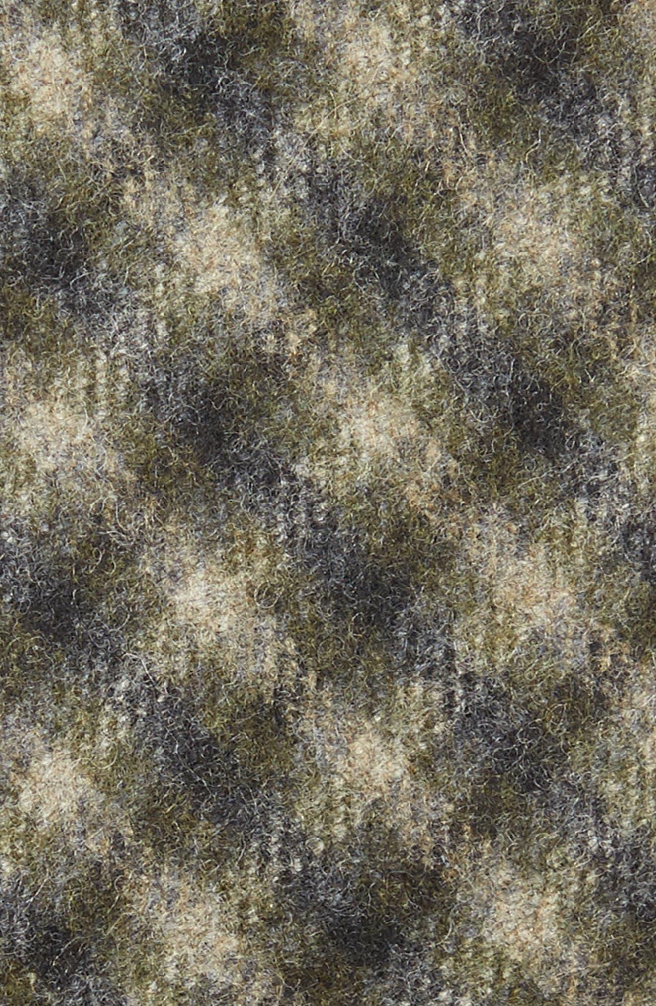 Glencheck Wool Skinny Tie,                             Alternate thumbnail 2, color,                             343