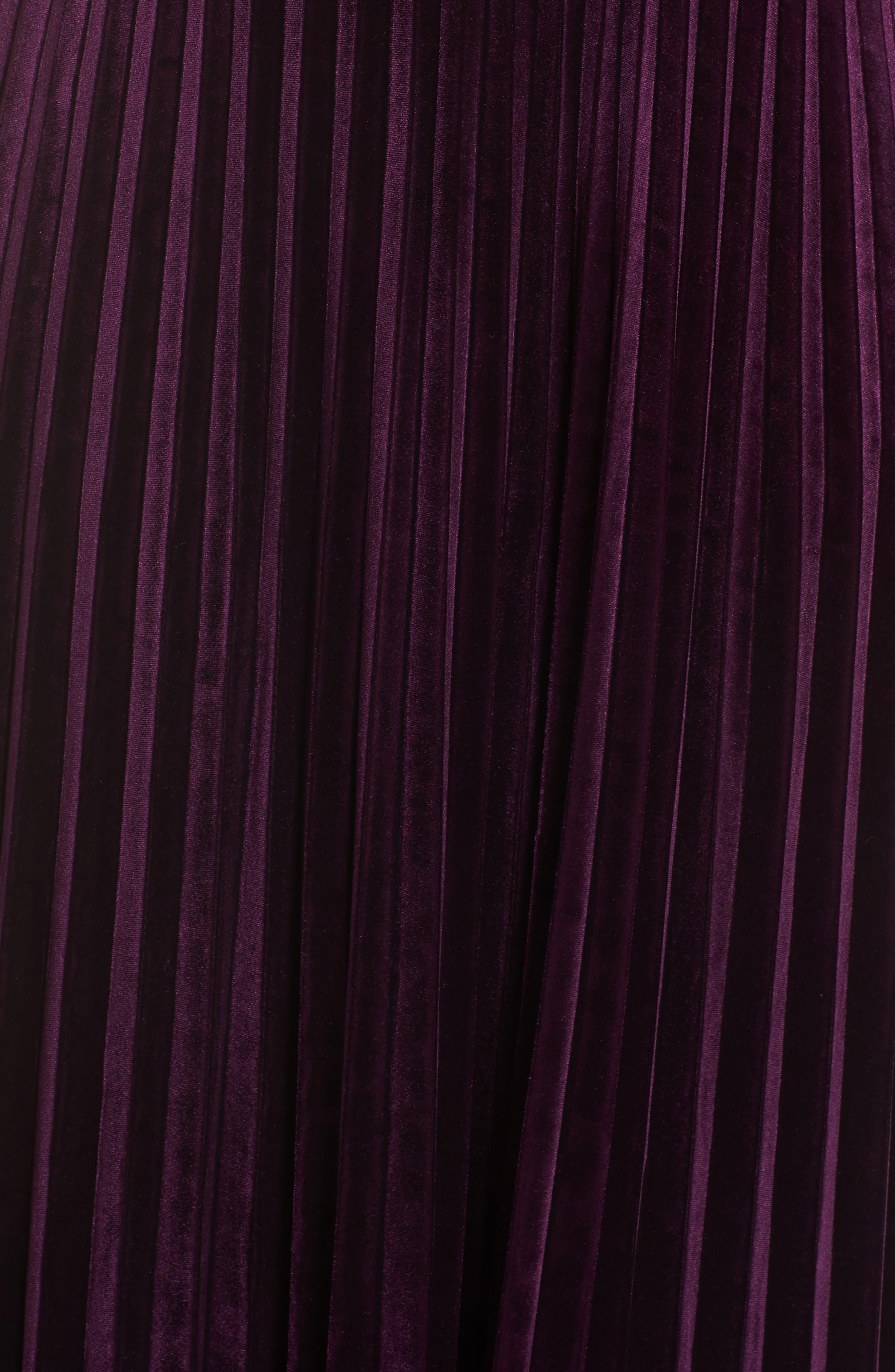 Kimono Pleated Dress,                             Alternate thumbnail 6, color,                             506