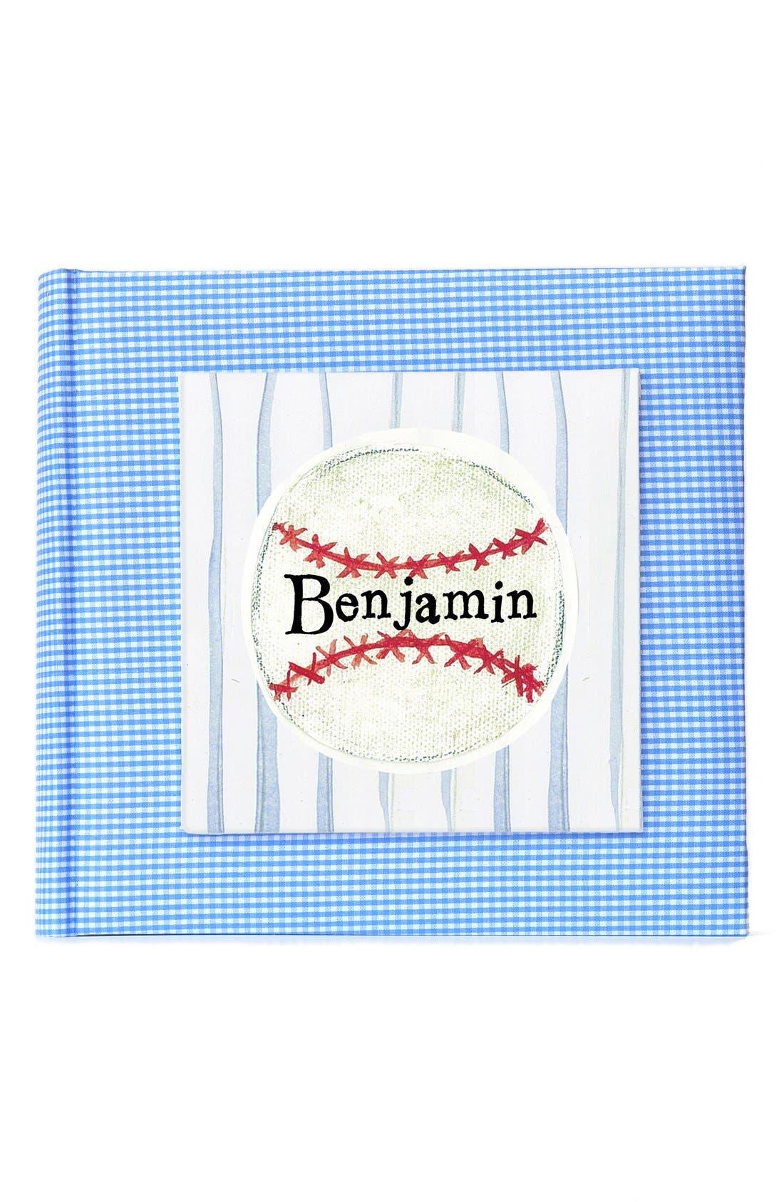 'Baseball' Personalized Photo Album,                             Main thumbnail 1, color,                             400