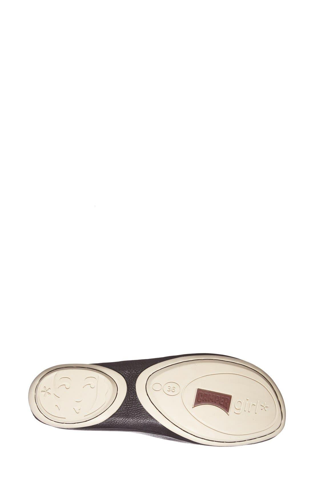 'Right Nina' Leather Flat,                             Alternate thumbnail 15, color,