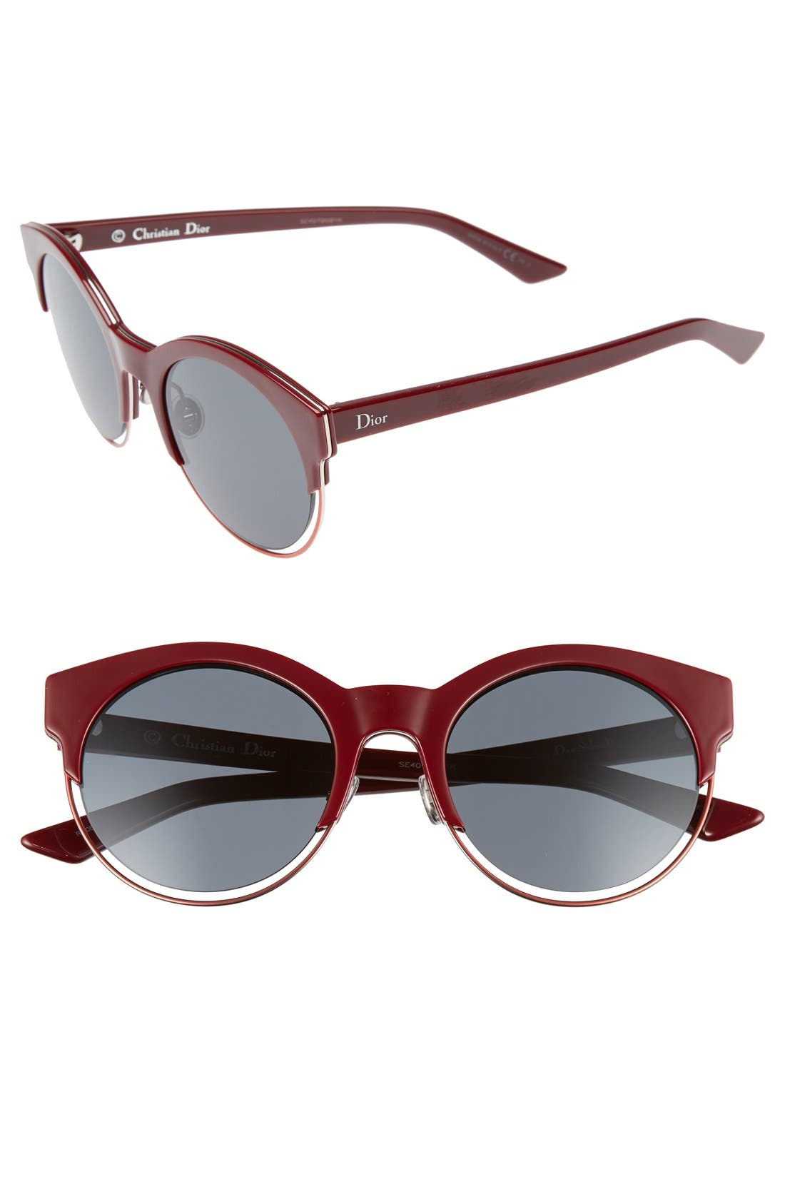 Siderall 1 53mm Round Sunglasses,                             Main thumbnail 8, color,