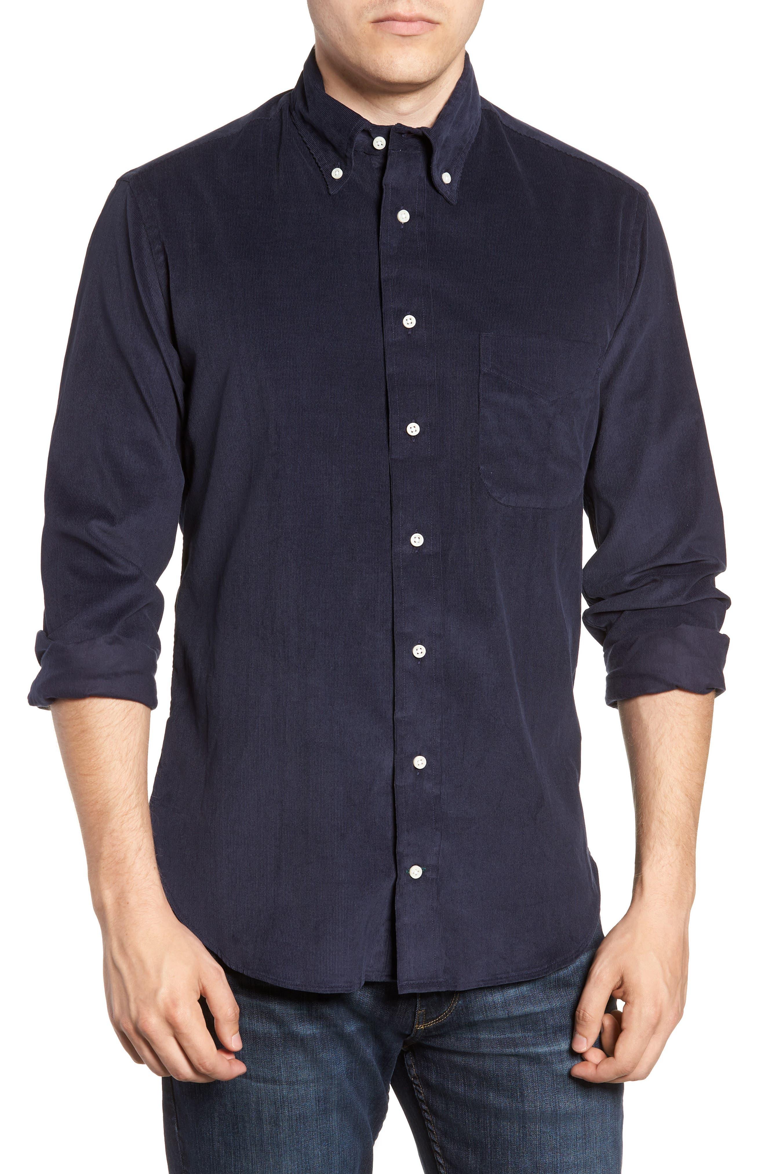 Corduroy Shirt,                         Main,                         color, 400